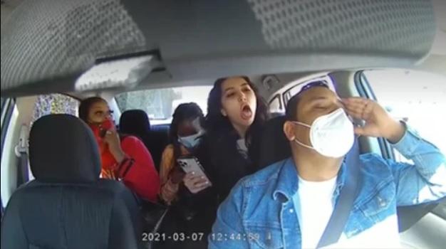 Letartóztatták a nőt, aki nevetve mondta, hogy koronás, majd leköhögte az Uber-sofőrjét San Franciscoban