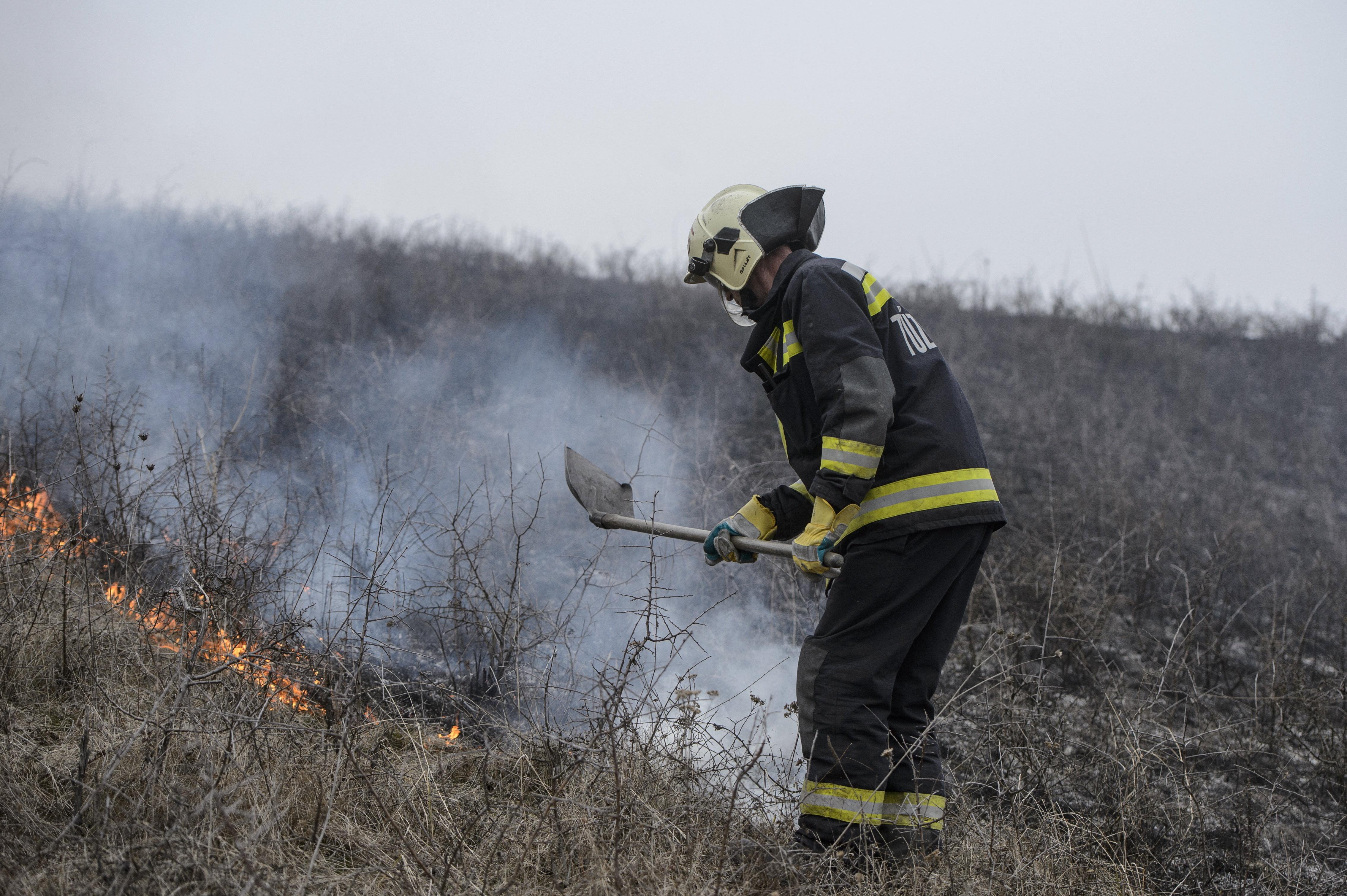 Kétszáz hektáron égett a tarló Pest megyében