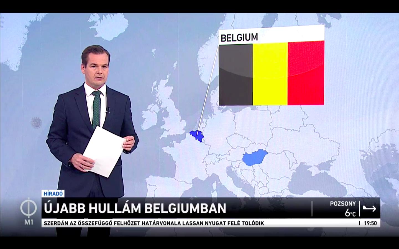 """Nem könnyű úgy bemutatni a Belgiumban """"tomboló"""" járványt, hogy egy szó sem hangzik el a sokkal rosszabb magyar adatokról"""