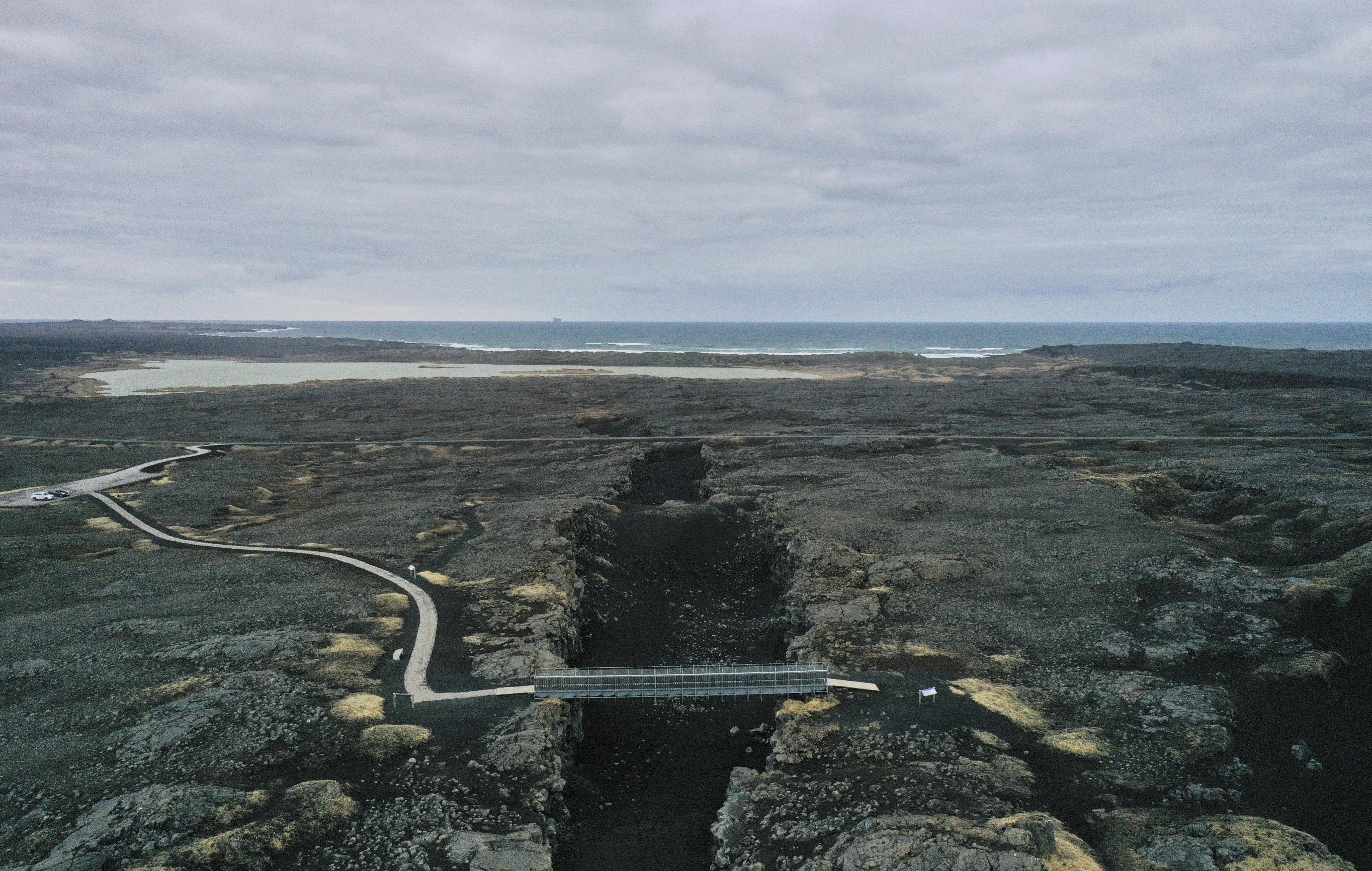 Három hét alatt több mint 50 ezerszer rengett a föld Izlandon
