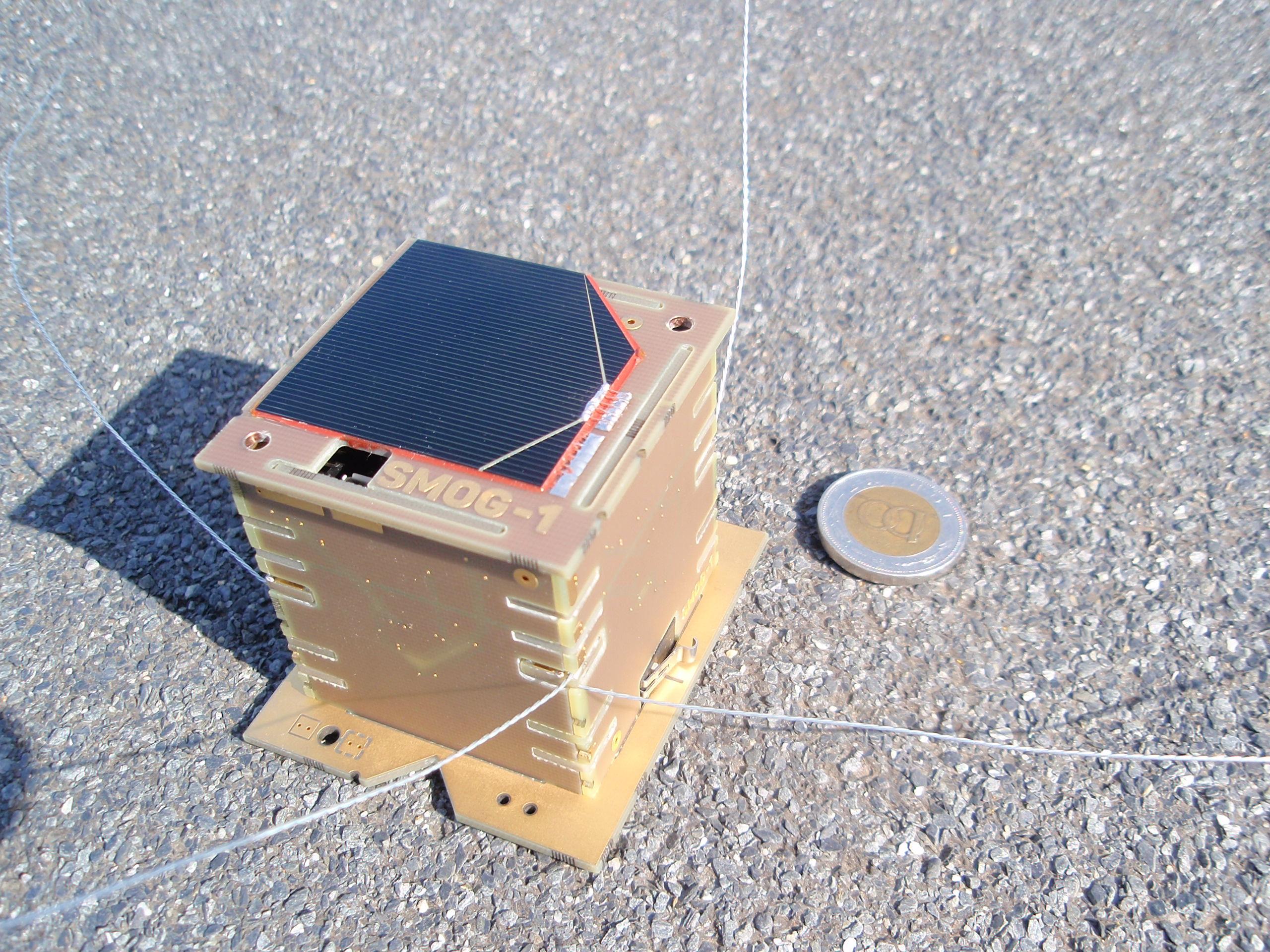 Szombaton lövik fel a SMOG-1 magyar kisműholdat Bajkonurból