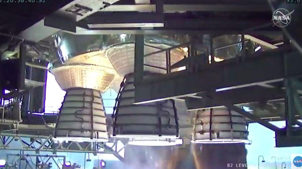 Sikeresen tesztelték a világ legnagyobb erejű űrrakétáját