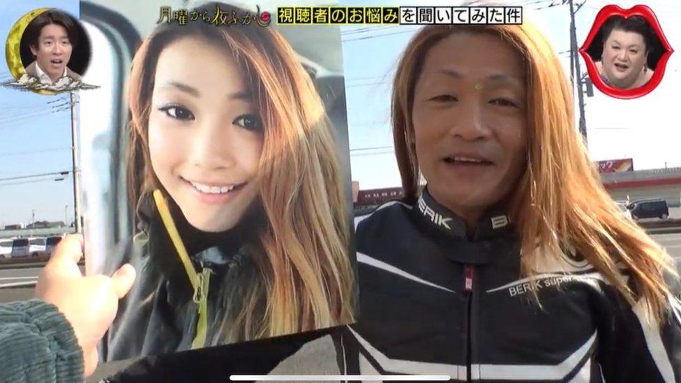 Valójában egy ötvenes férfi a népszerű fiatal női motoros Japánban