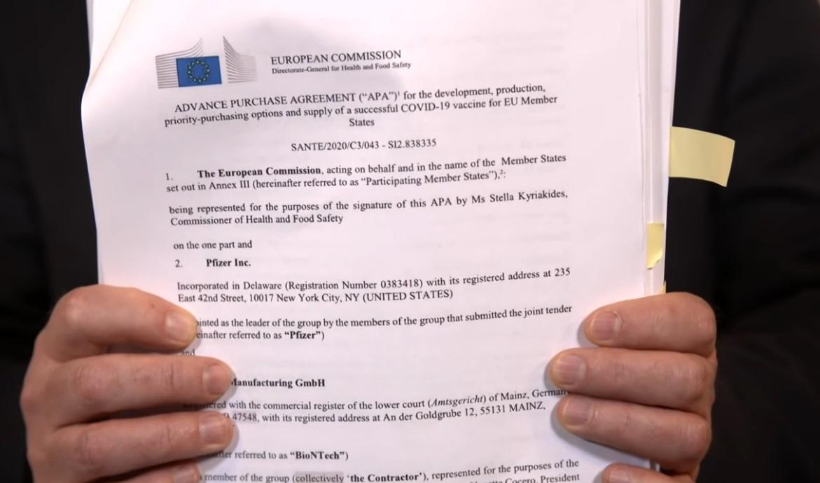 Az Európai Bizottság szerint a konkrét szállítási feltételekről a tagállamok egyeztek meg a gyártókkal