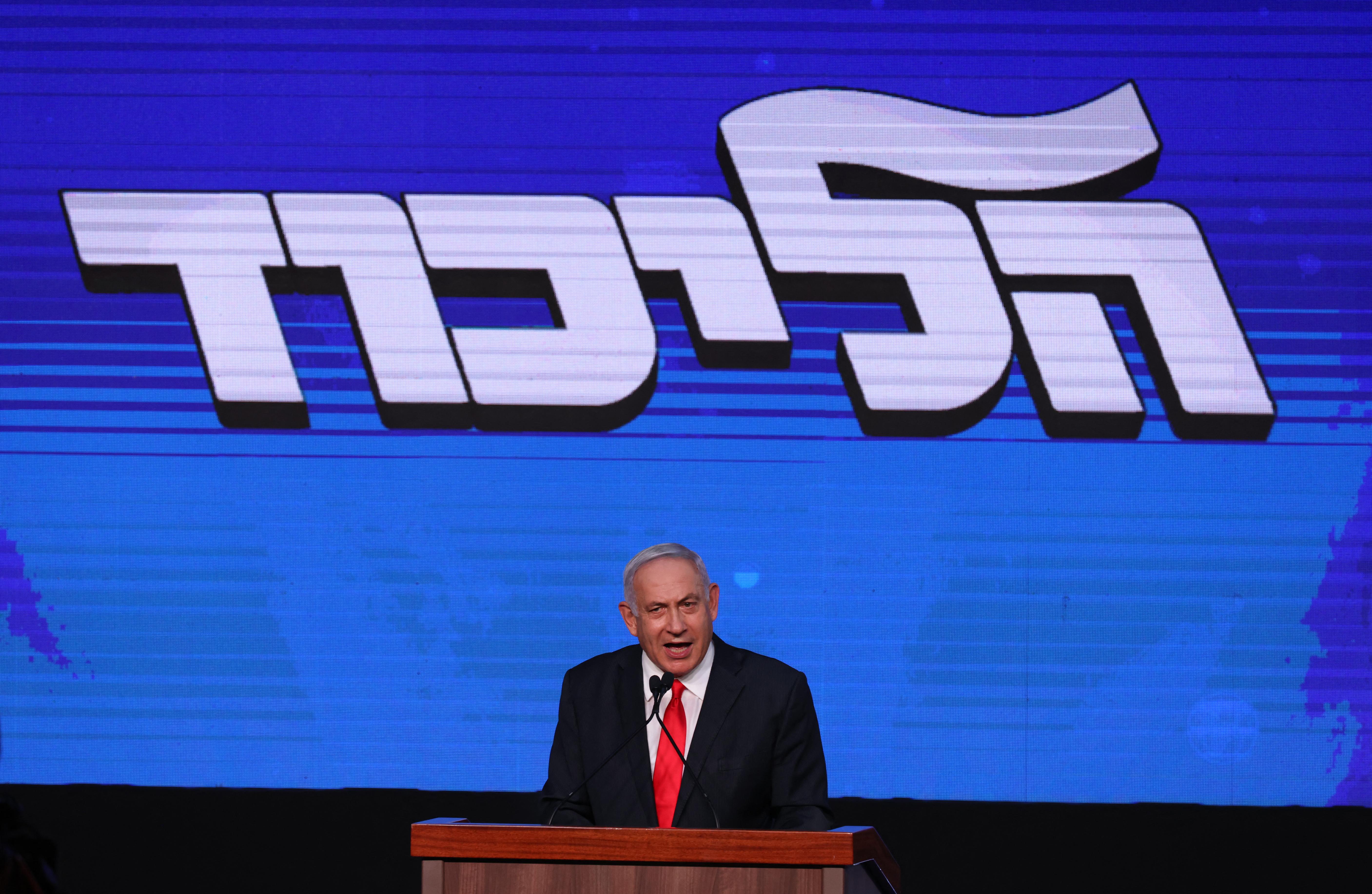 A csaknem végleges izraeli választási eredmények szerint Netanjahu csak egy iszlamista párttal együtt lehet képes kormányalakításra