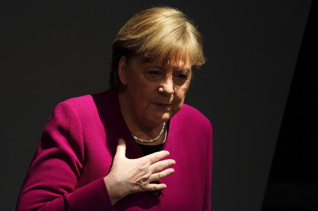 Merkel a brit mutánsról: Ez egy új járvány