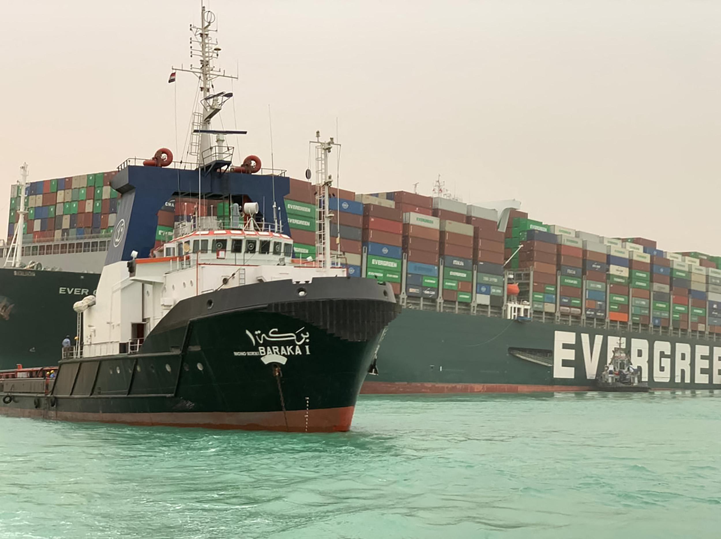 Legalább 20 élőállat-szállító hajó vesztegel a Szuezi-csatornán