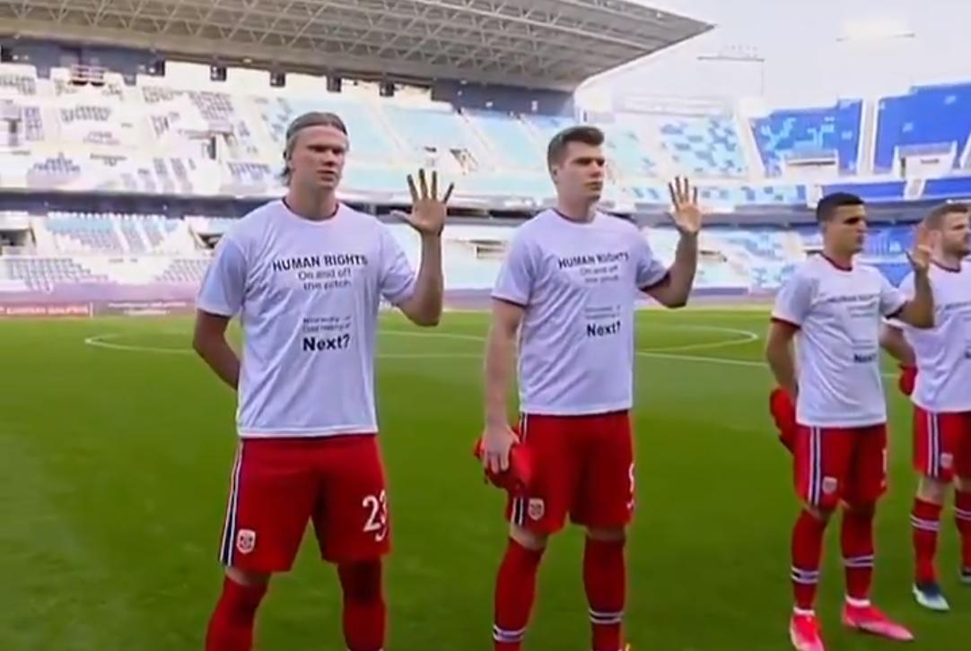 Sorra tiltakoznak a focisták, mert a vébét rendező Katarban semmibe veszik az emberi jogokat
