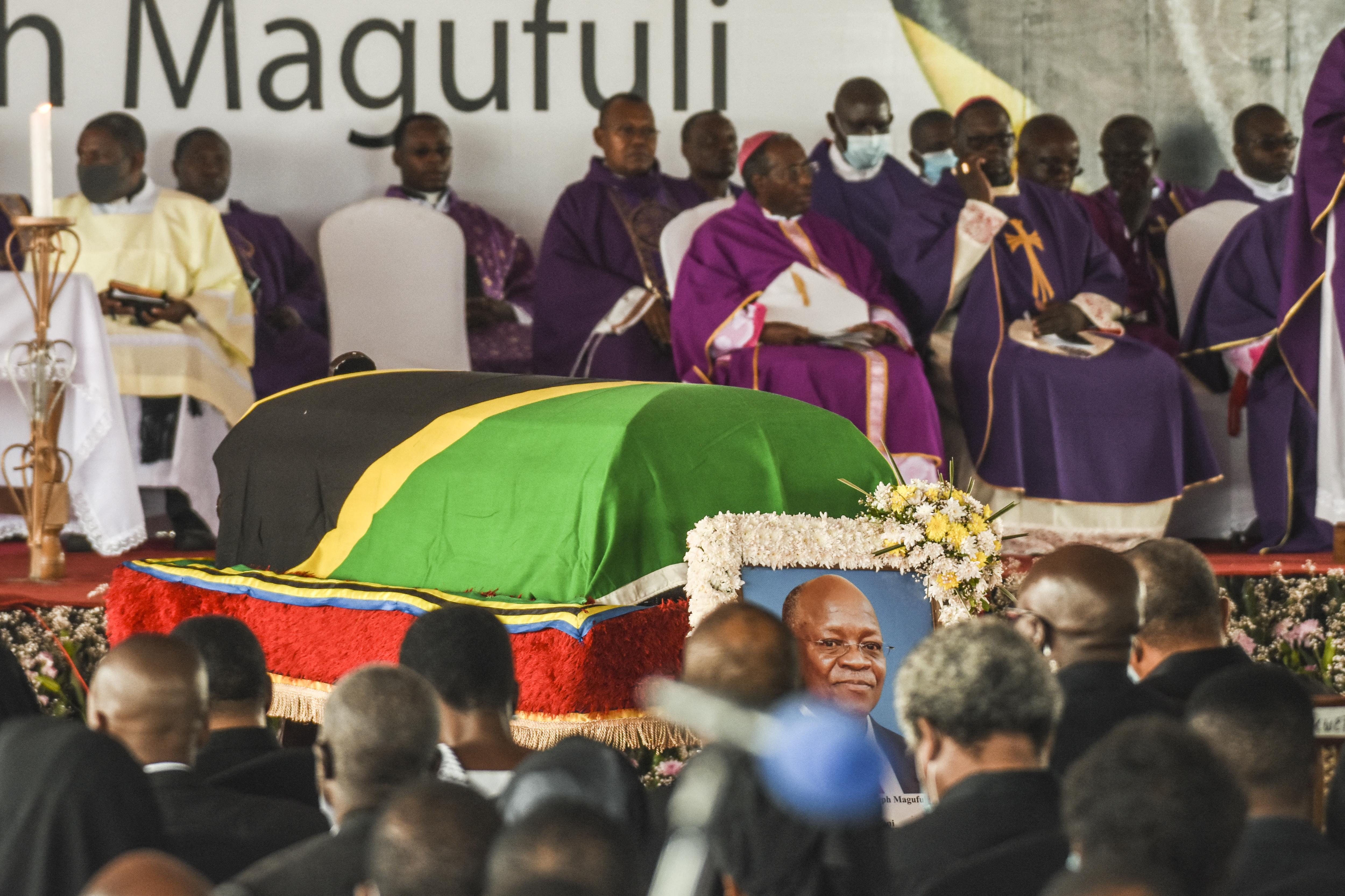 Negyvenöten meghaltak Tanzániában az elnök temetési szertartásán