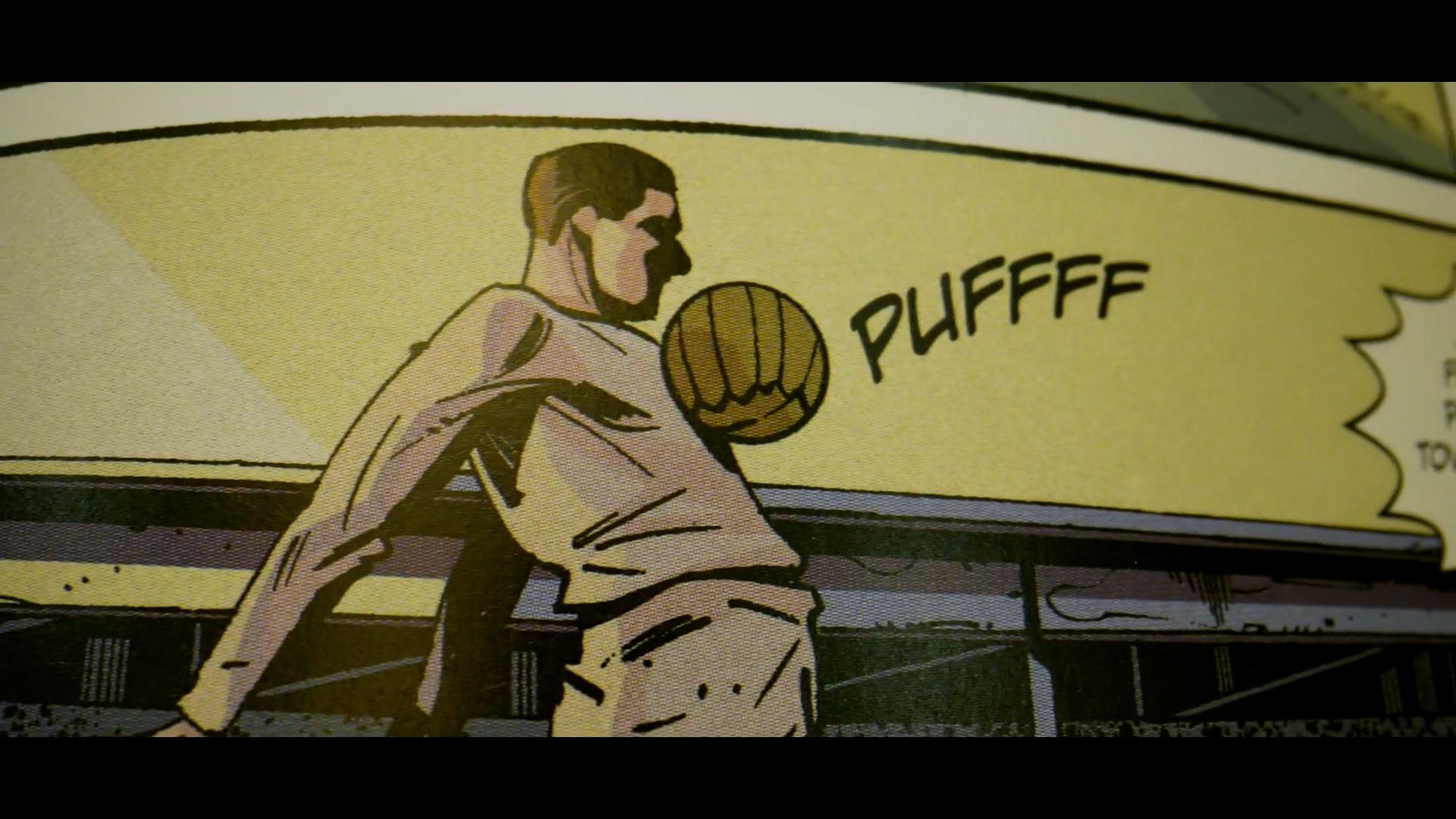 Az Orbán Comics bemutatja Puskást, a foci-Jézust
