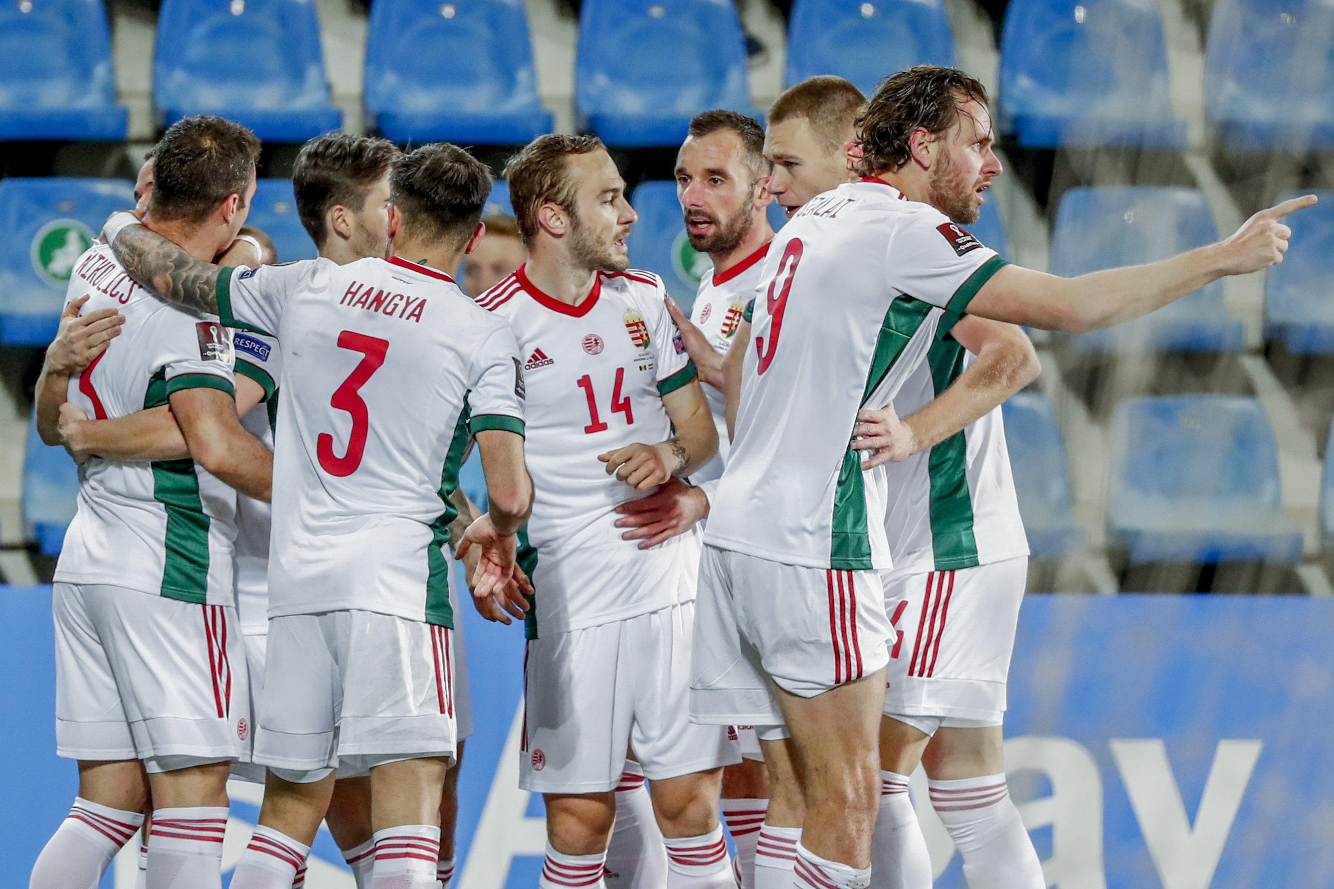 Könnyed győzelmet aratott Magyarország Andorra ellen