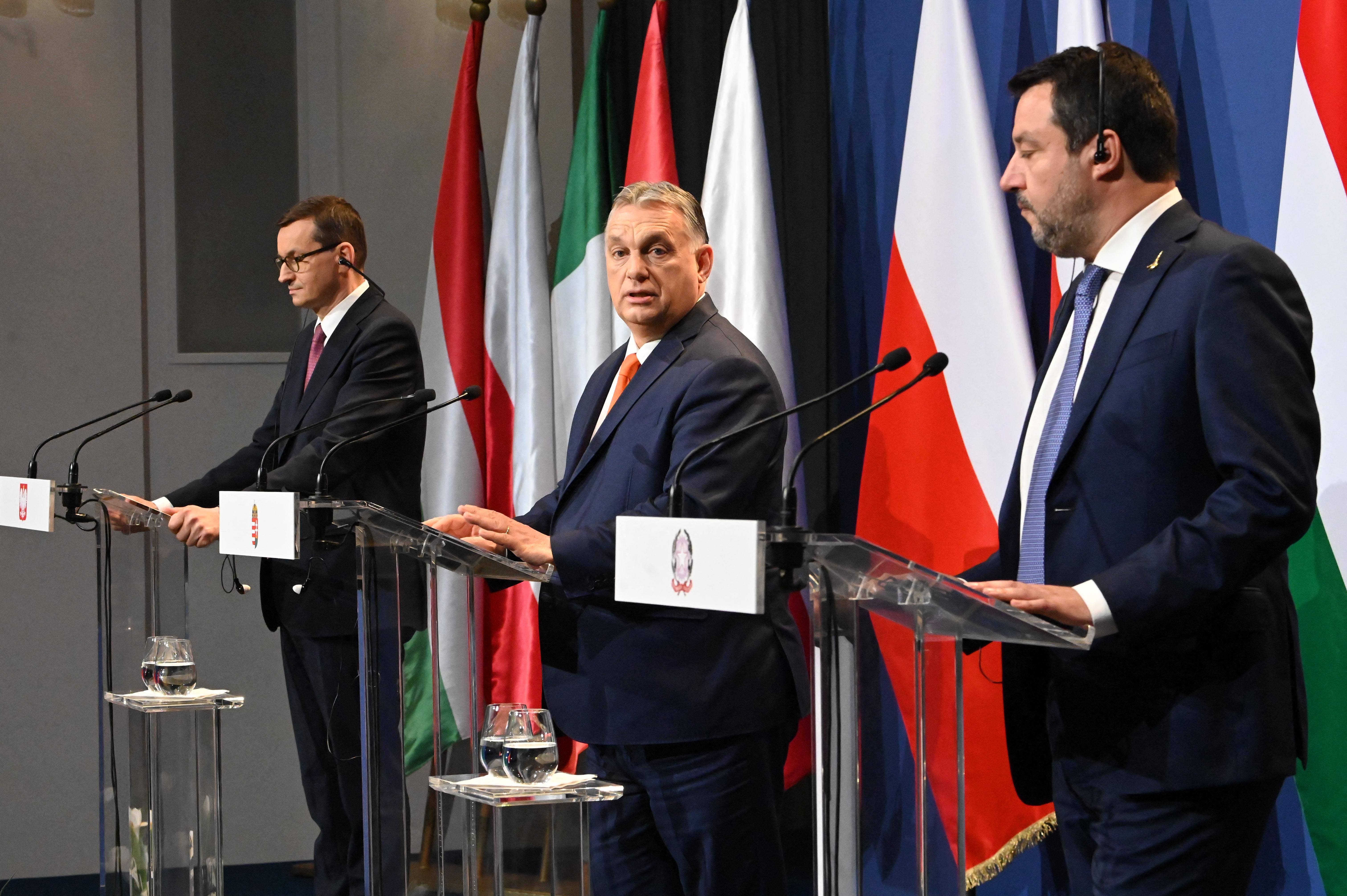 Salvini kimondta: Orbánnal és Kaczynskival új európai frakciót akar