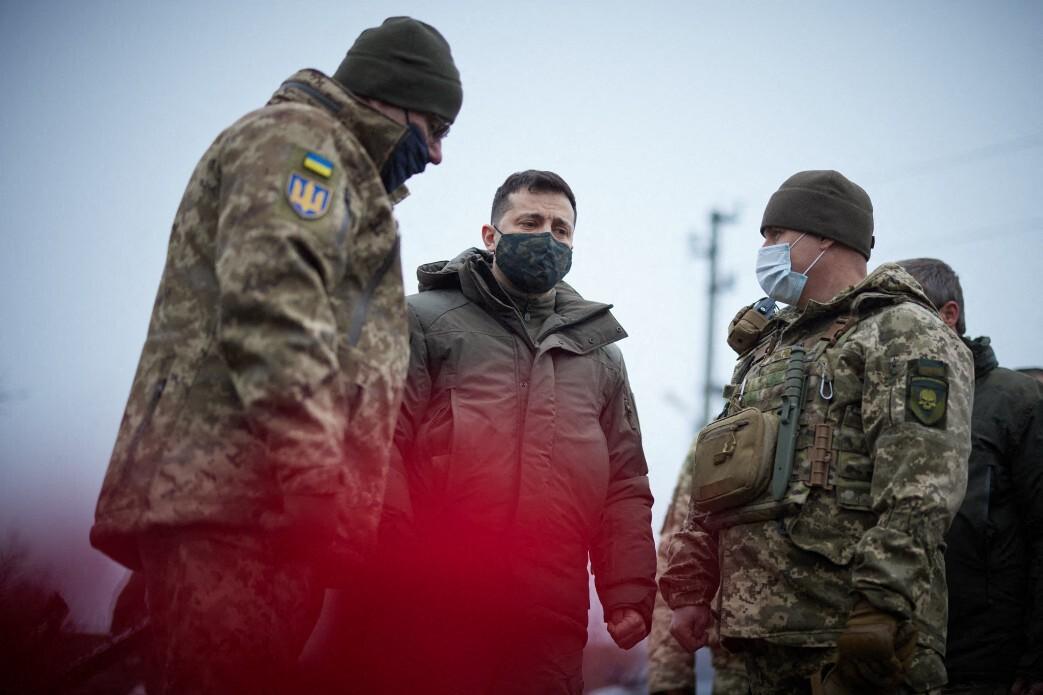 Két ukrán katona esett el hétfőn a donbaszi harcokban