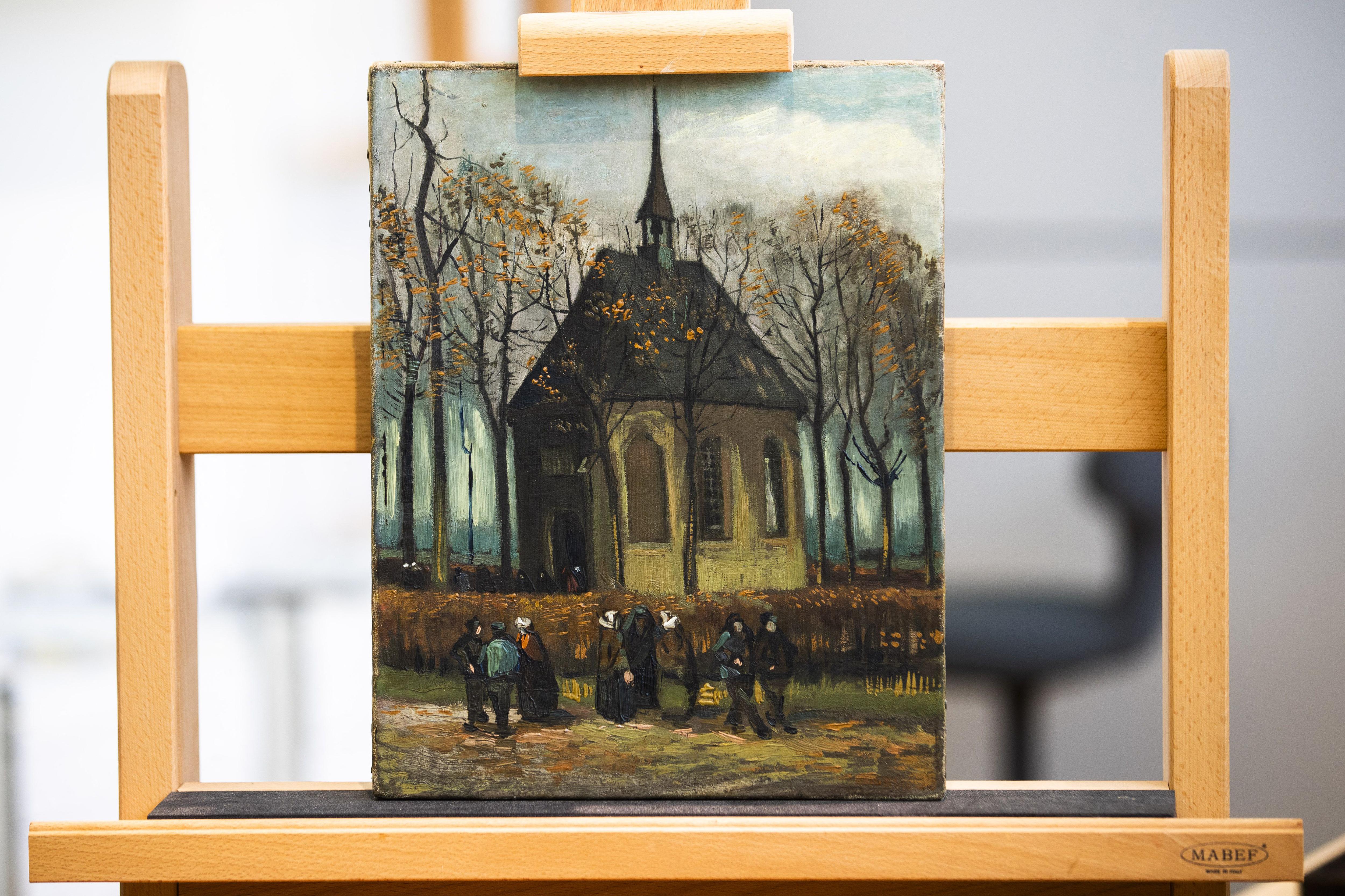 A holland rendőrség letartóztatott egy férfit, aki ellophatta a 21 millió eurót érő Van Gogh és Hals festményeket