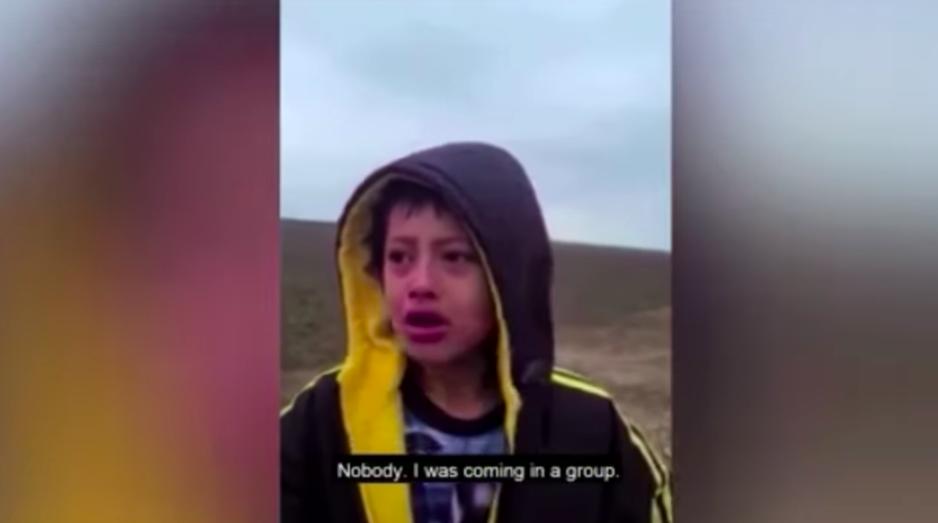 Magára hagyott gyerek kóborolt a texasi határon