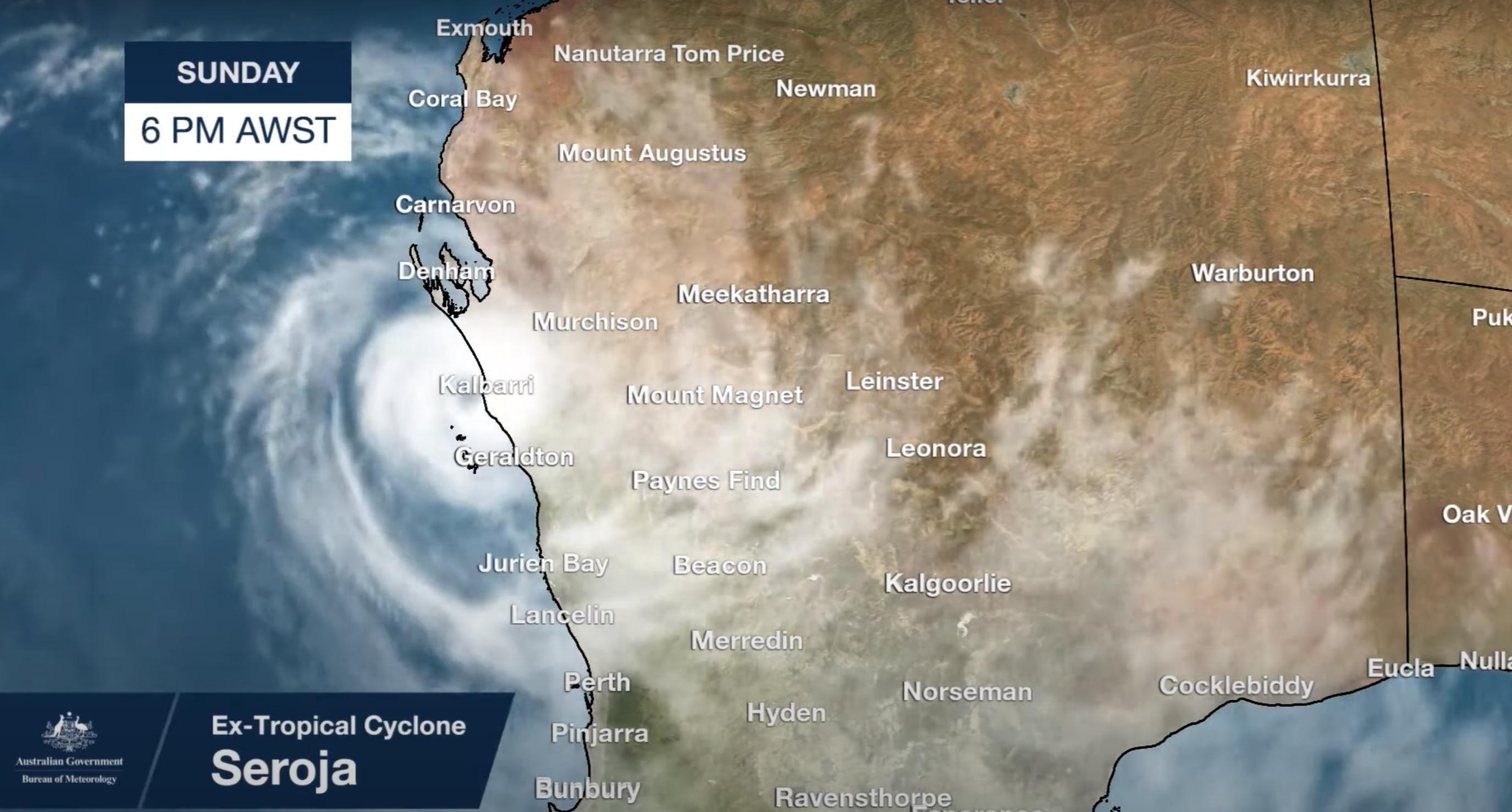 Trópusi ciklon pusztított Ausztrália nyugati partján