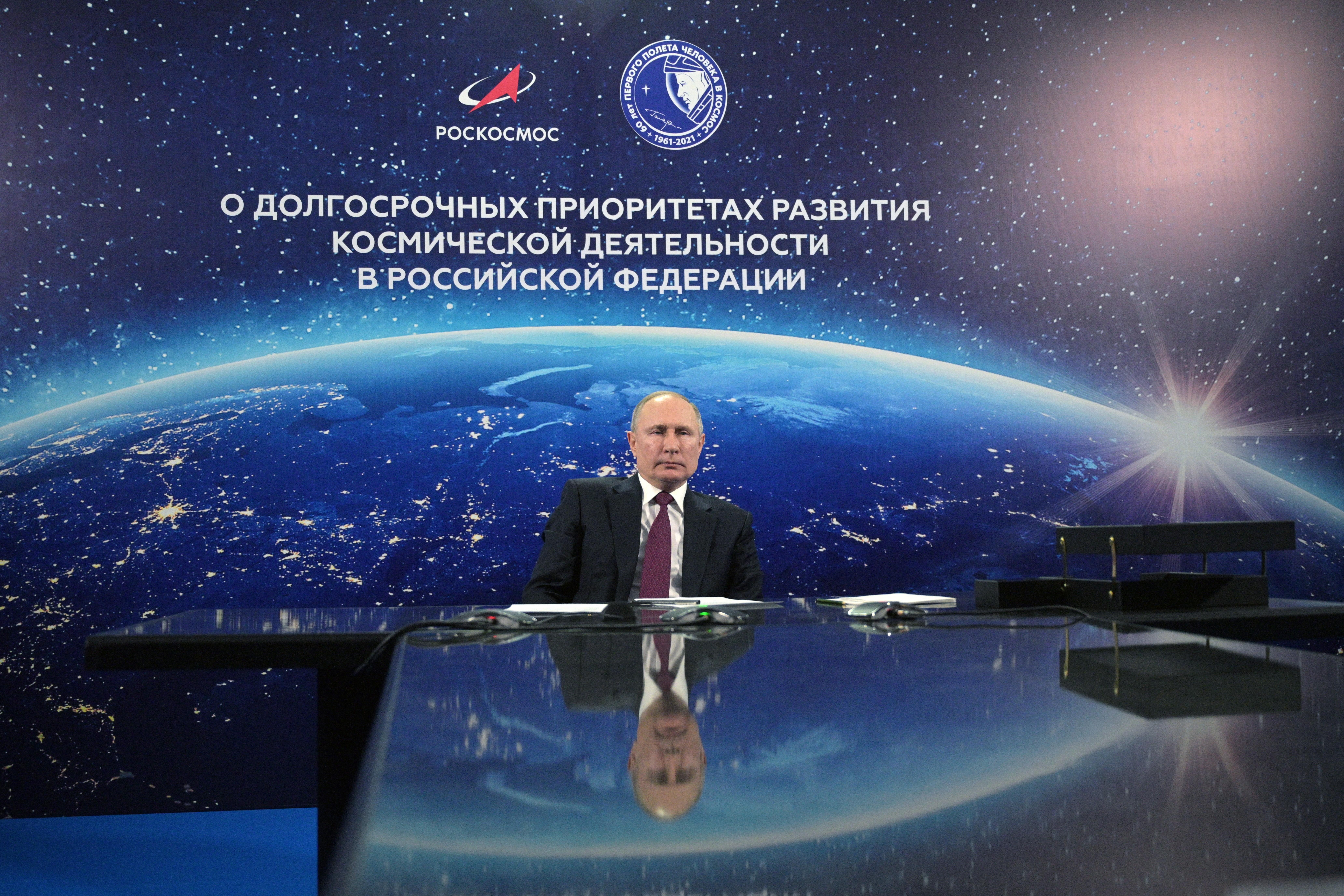 Putyin: Moszkva kész együttműködni a világűrben