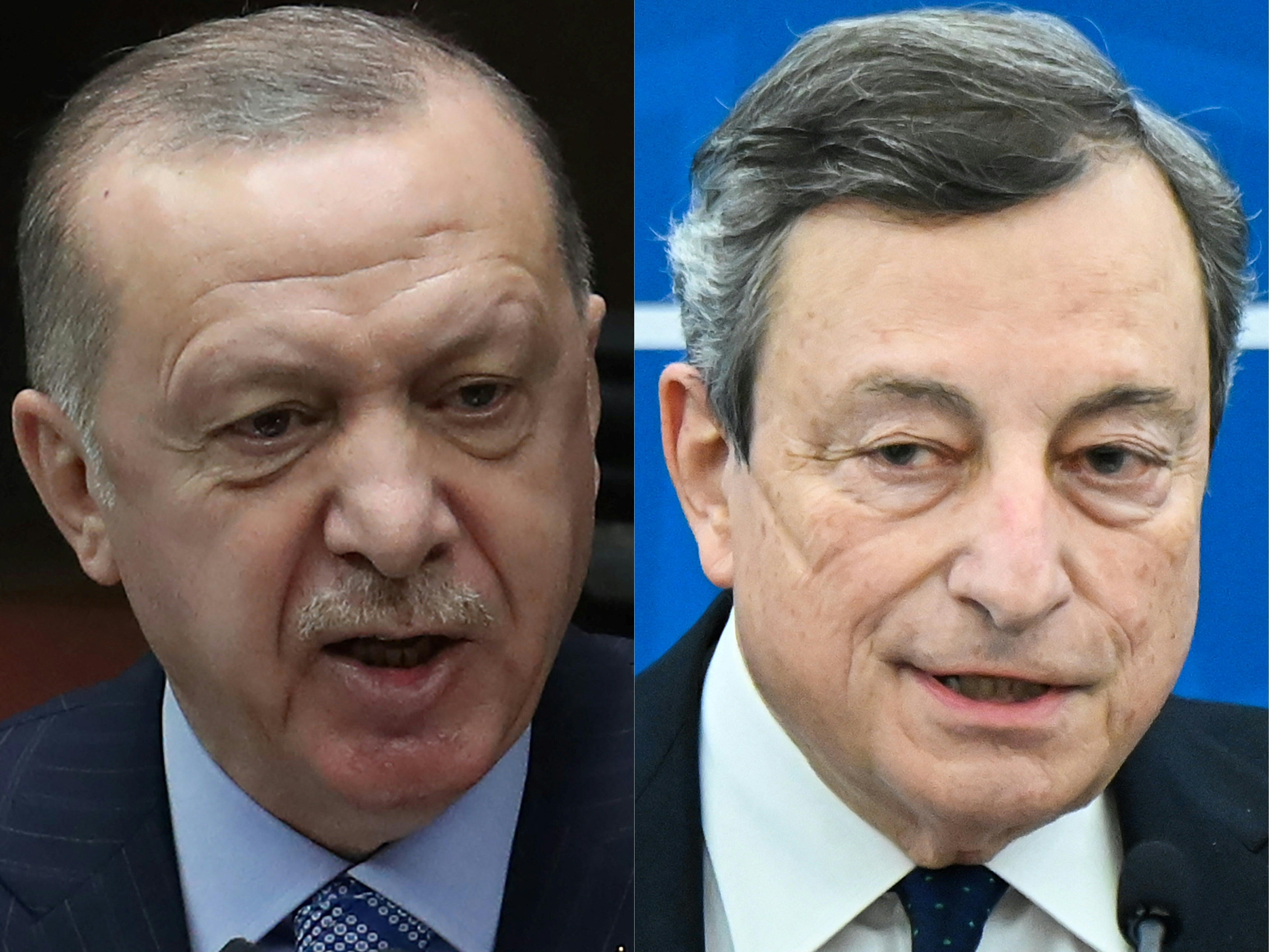 Erdoğan rossz néven vette, hogy az olasz miniszterelnök lediktátorozta