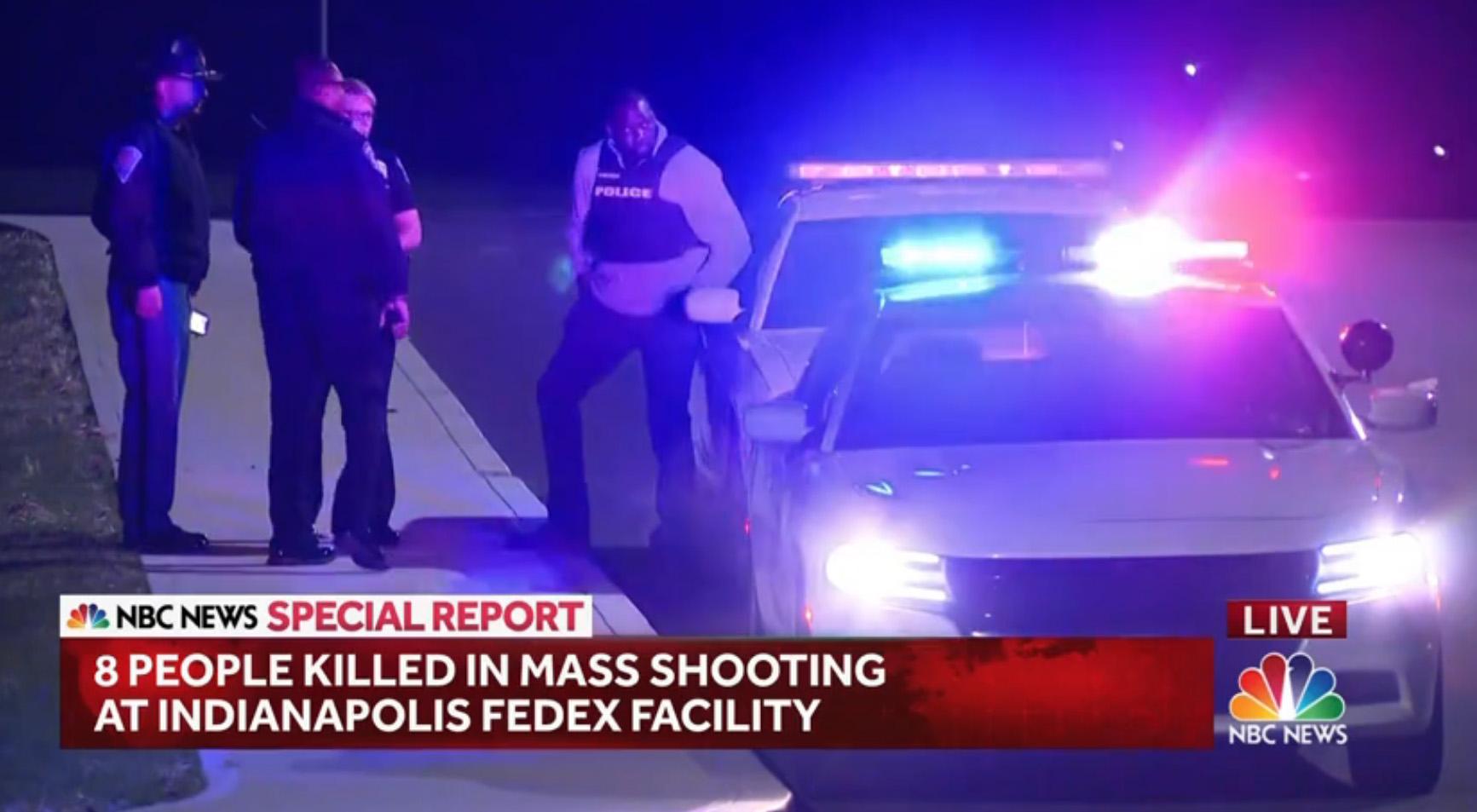 Nyolcan meghaltak egy lövöldözésben Indianapolisban