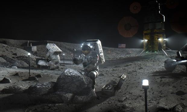 A SpaceX építhet űrhajót a NASA-nak, amivel ismét embert küldenek a Holdra