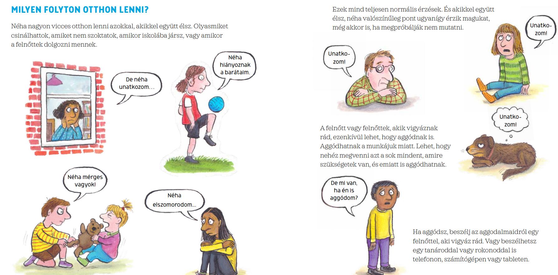 Gyerekeknek segít elmagyarázni a koronavírust az a könyv, amit ingyen elérhetővé tett a Pagony