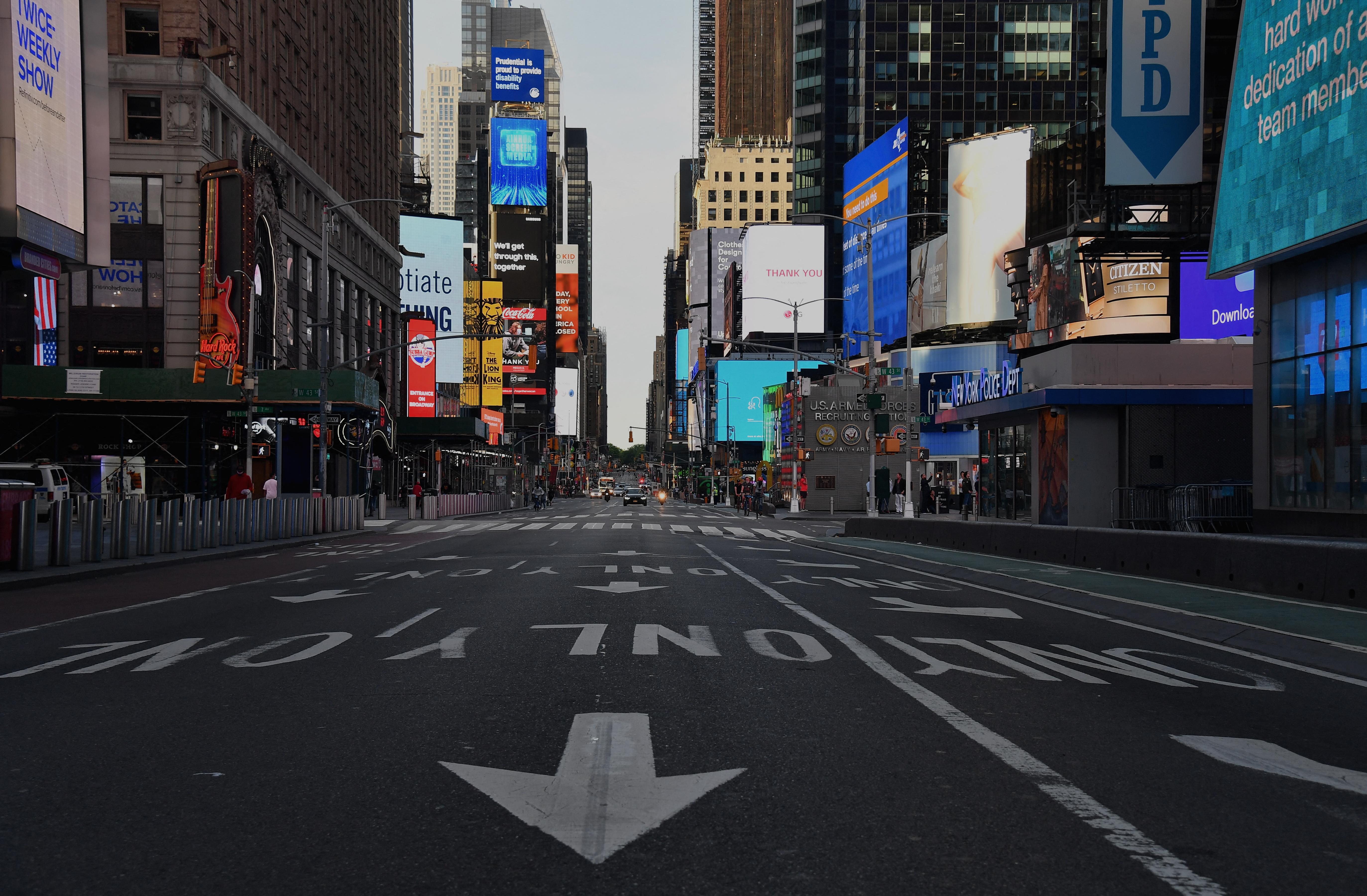 Egy négyévest is meglőttek egy vita során a Times Square-en