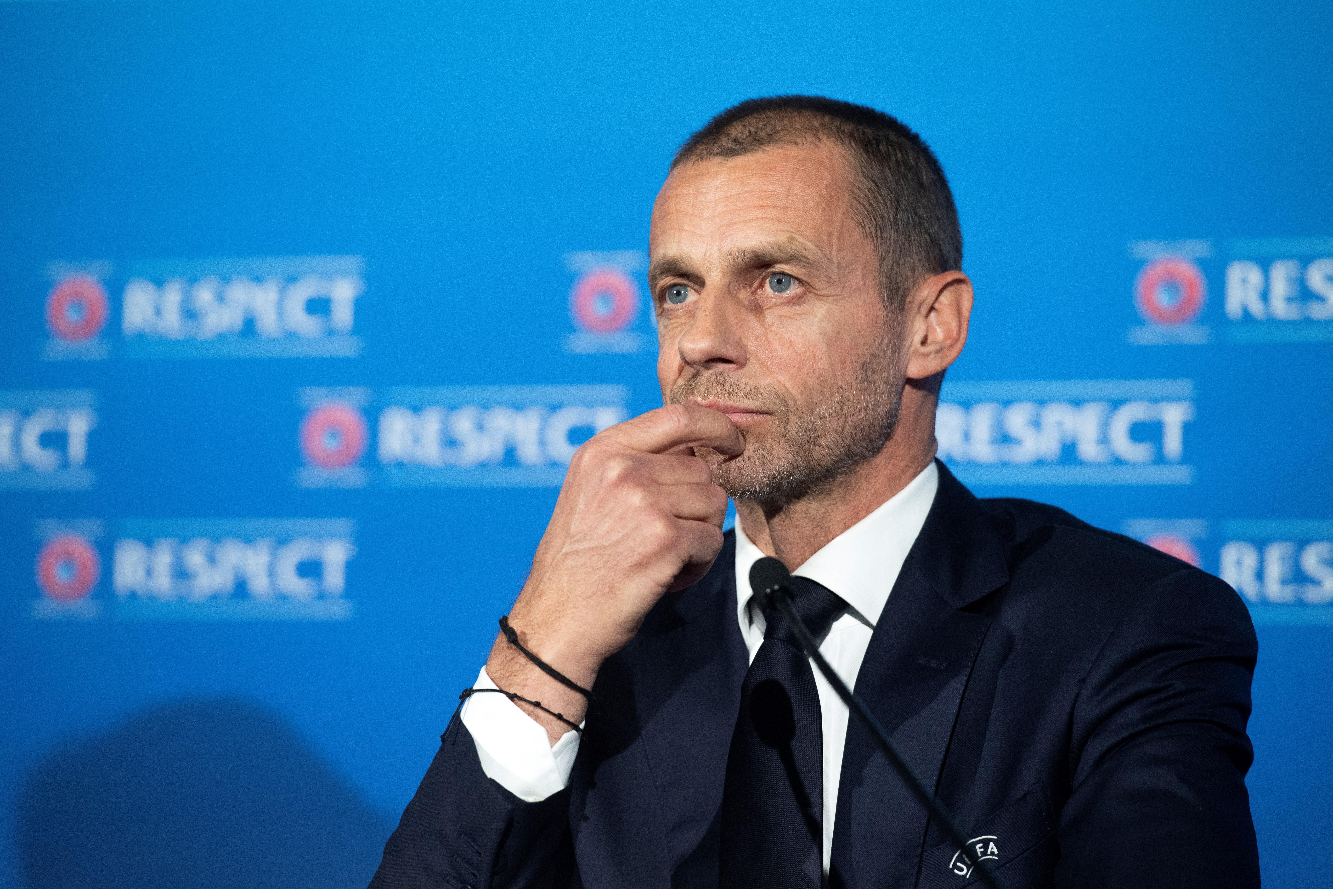 Meghátrált az UEFA, felfüggesztette a szuperligás csapatok elleni eljárást