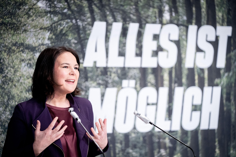 Története során először állít kancellárjelöltet a német zöldpárt