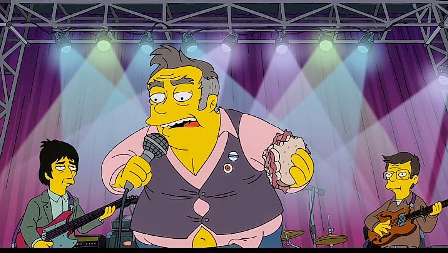 Morrissey felháborodott azon, ahogy a Simpson családban ábrázolták