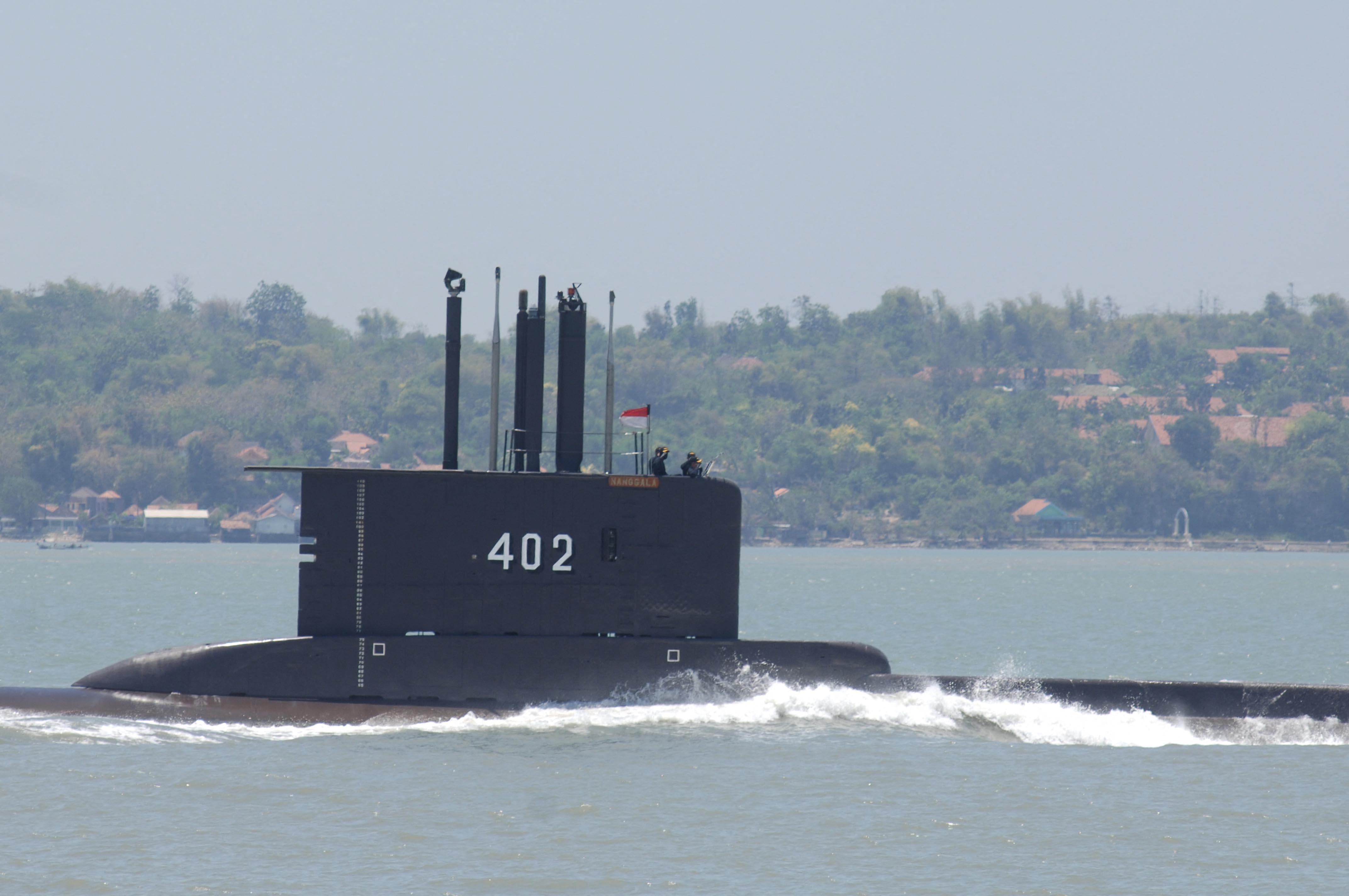 Balitól északra eltűnt egy tengeralattjáró 53 emberrel a fedélzetén