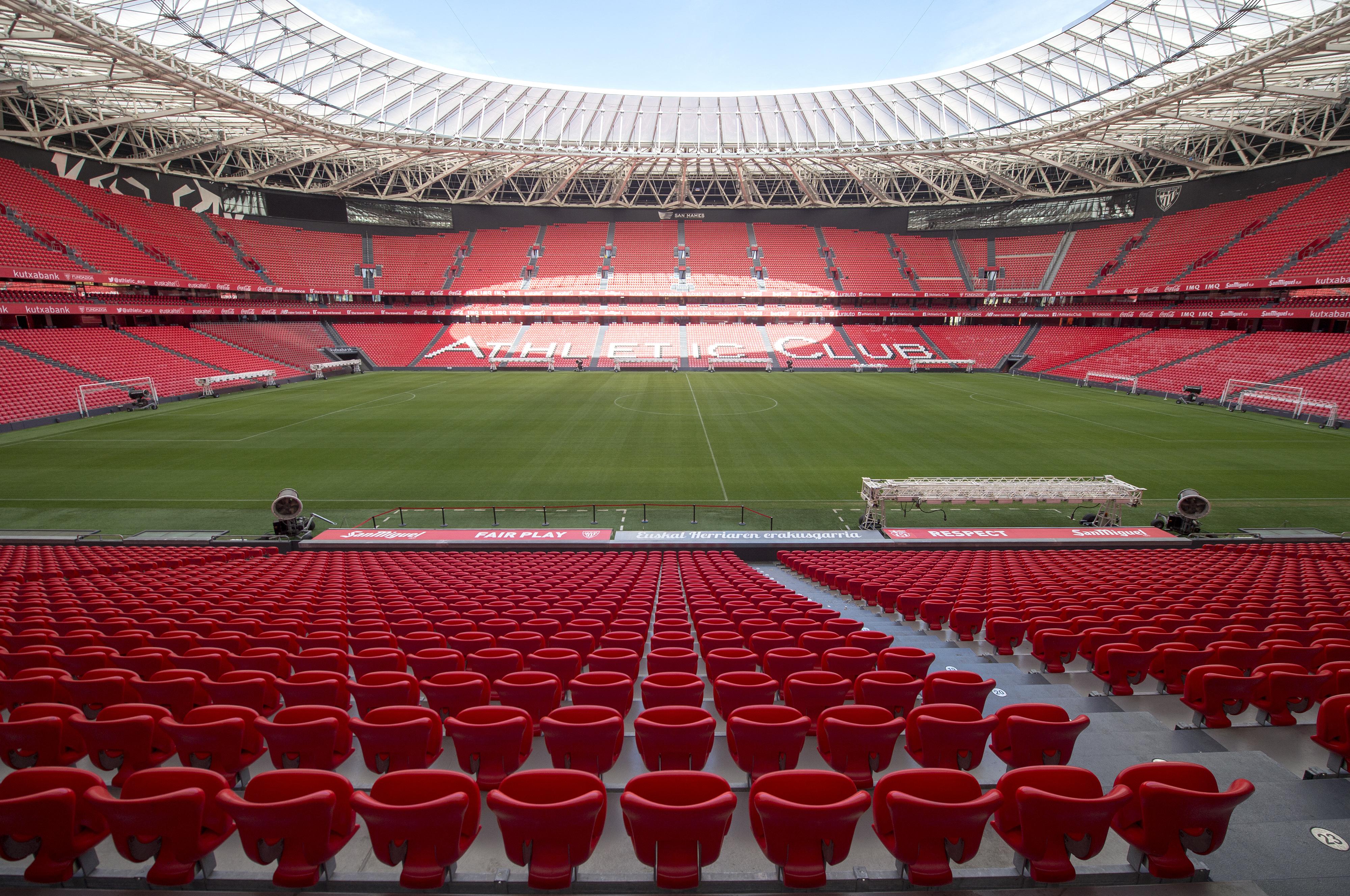Bilbao nem tudja vállalni a nézőket, elvették tőlük az Eb-rendezést