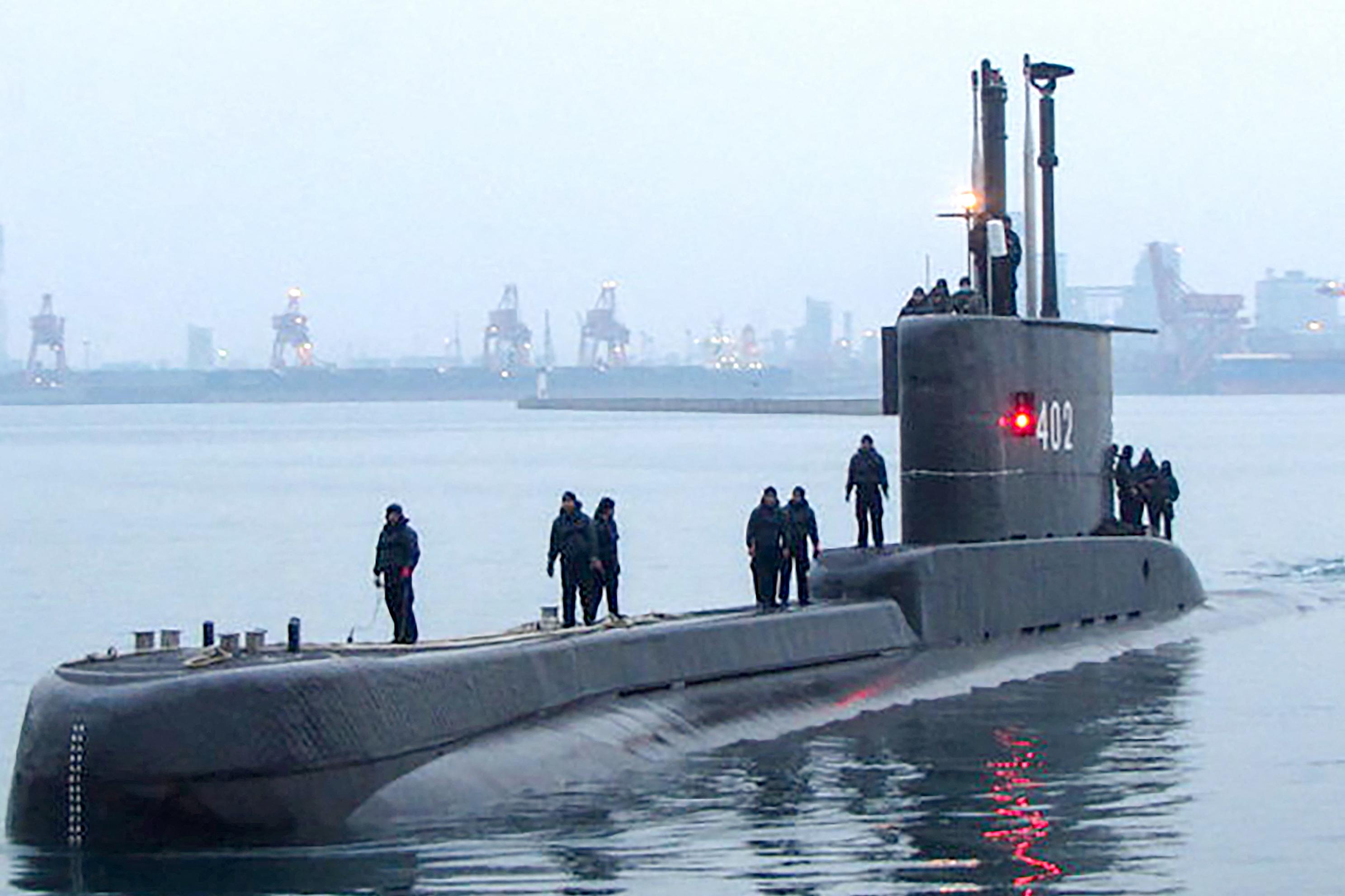 Megtalálták az indonéz tengeralattjárót