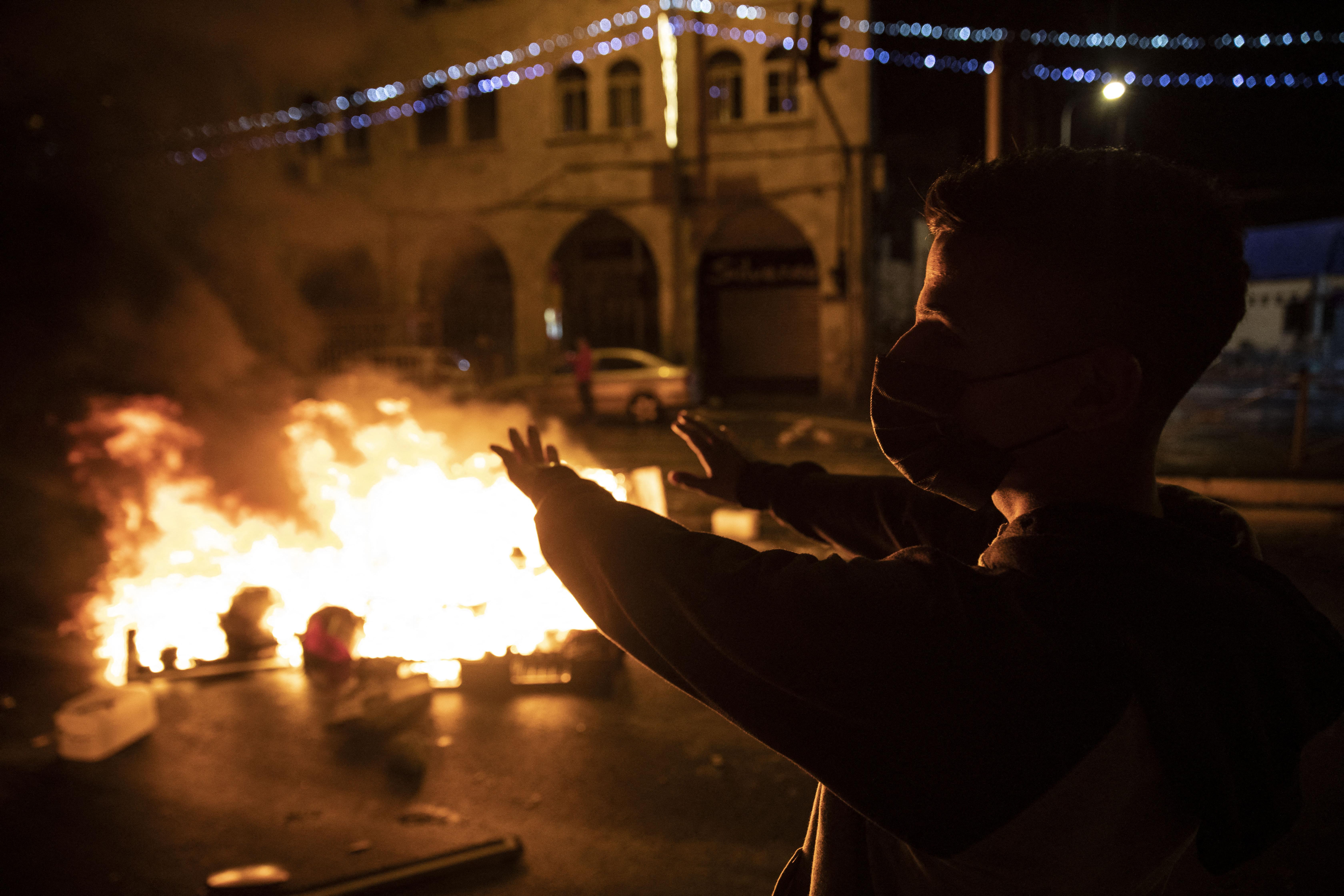 Több tucatnyi sérültje van a jeruzsálemi összecsapásoknak