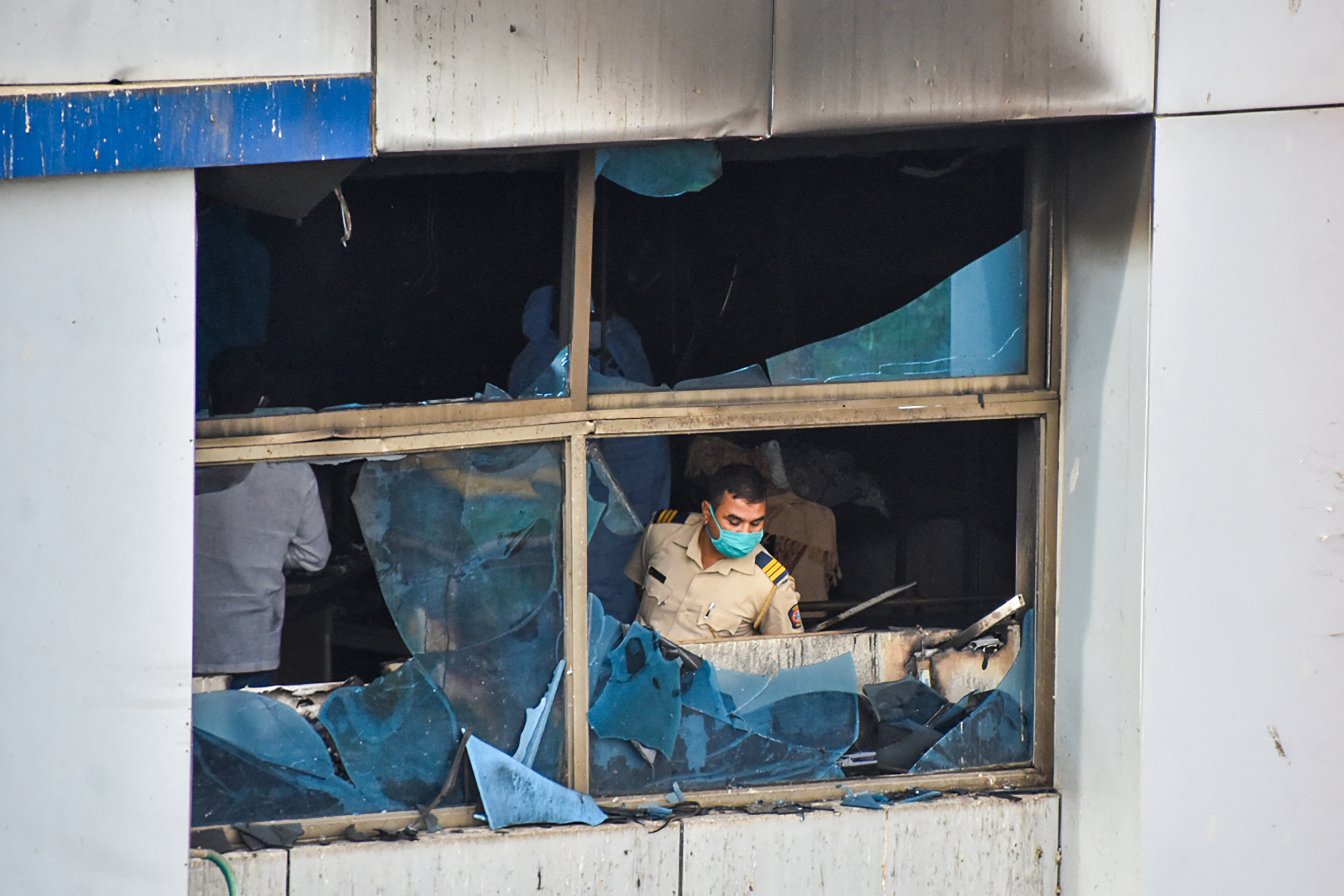 Tűz pusztított egy kórházban Indiában