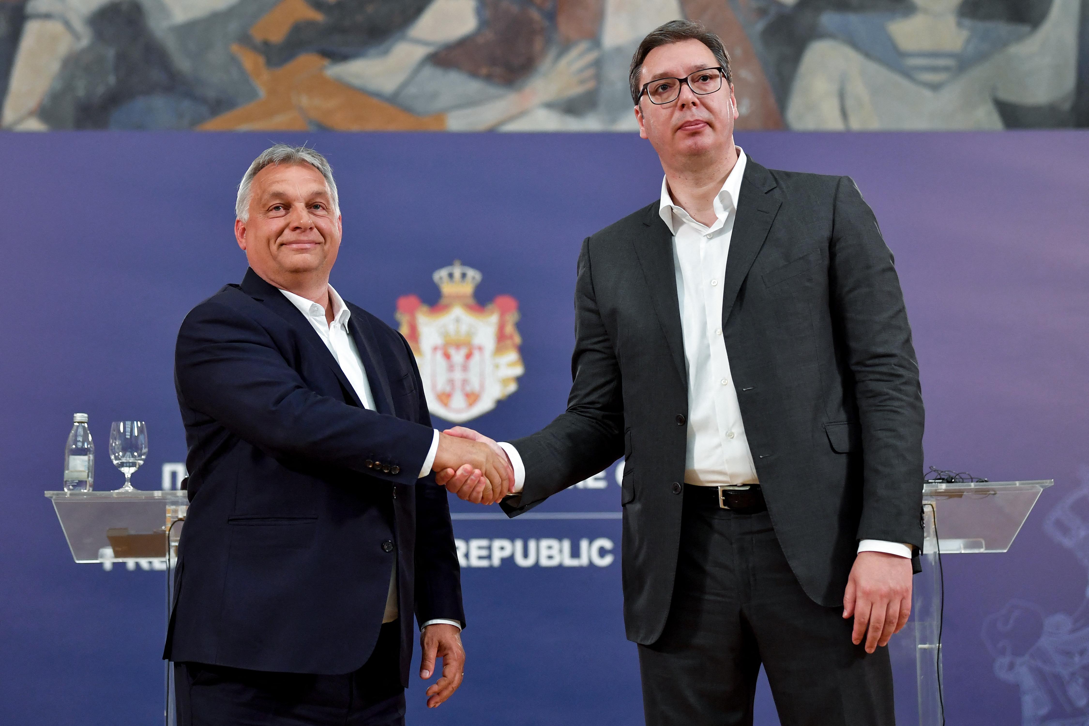 Orbánt is sejtik a Nyugat-Balkán újrafelosztásának kiszivárgott terve mögött