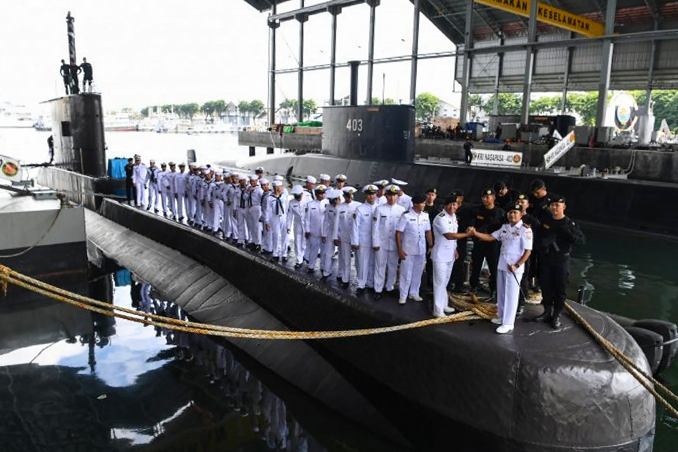 Mostanra elfogyhatott a levegő az elsüllyedt indonéz tengeralattjárón