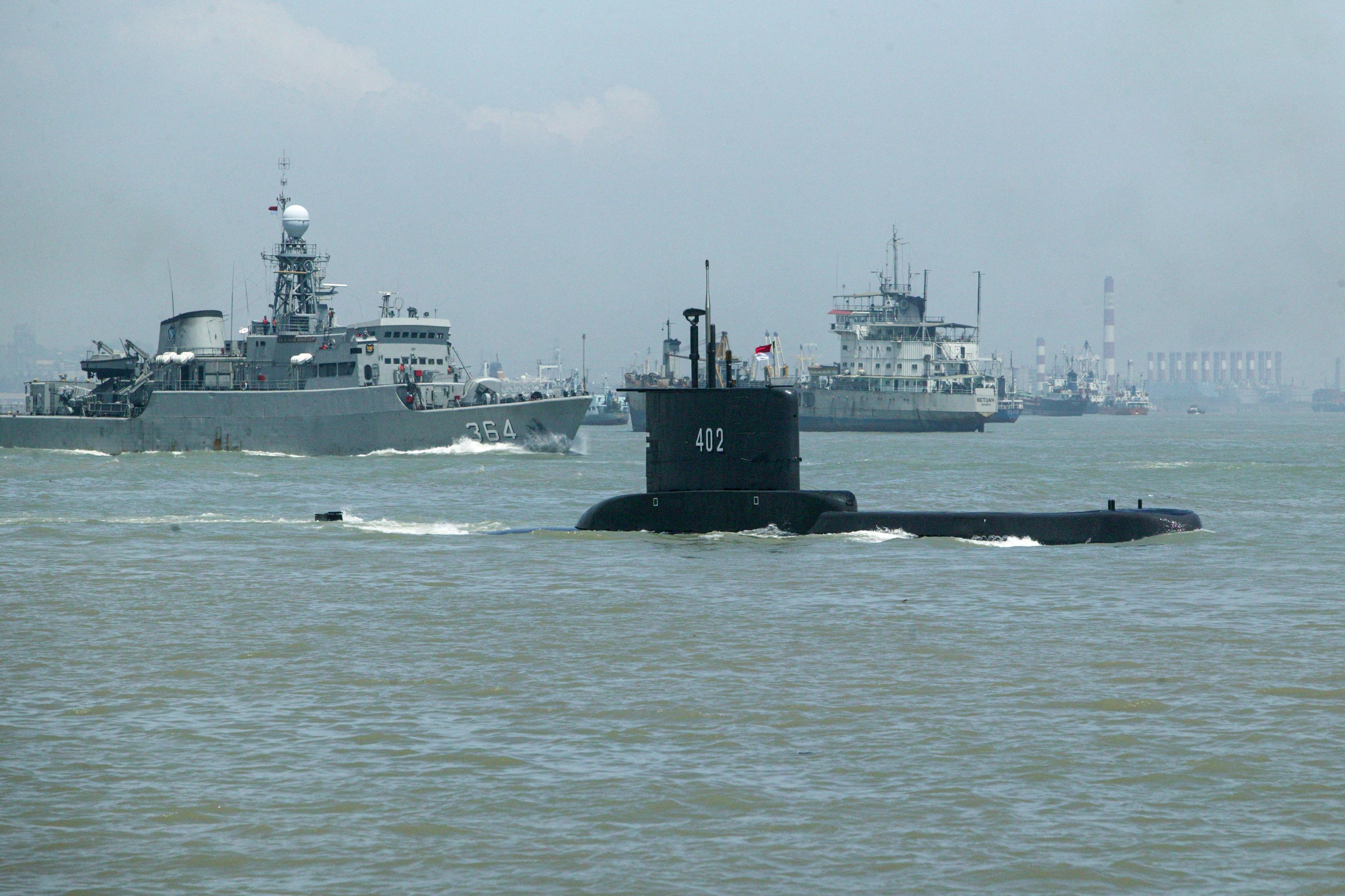 Felhagytak az eltűnt indonéz tengeralattjáró kutatásával