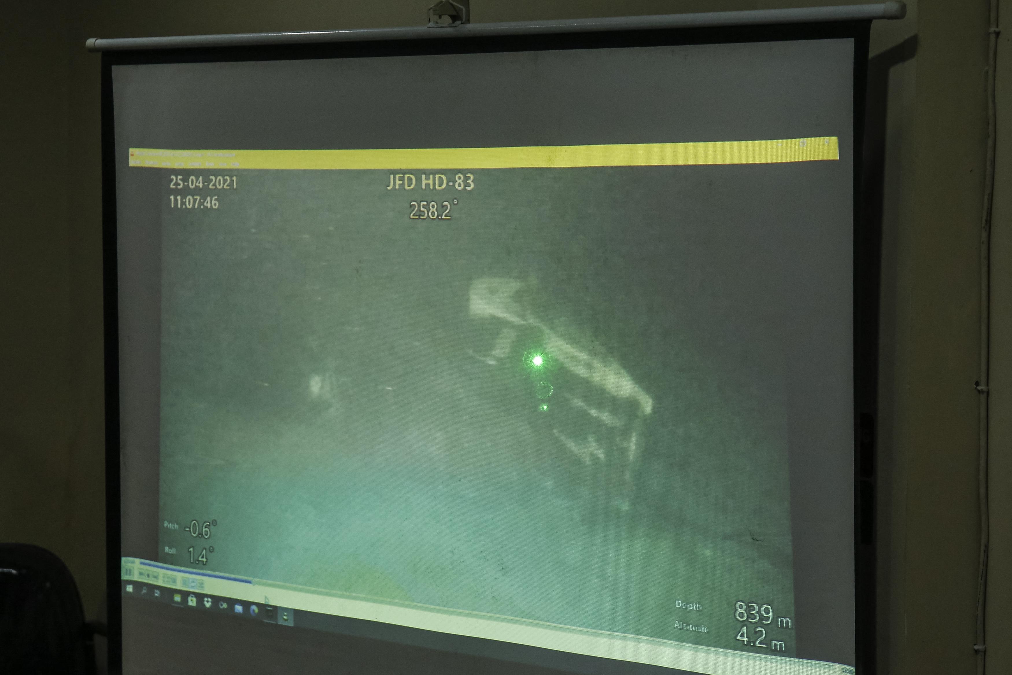 Megtalálták az indonéz tengeralattjárót a tenger mélyén