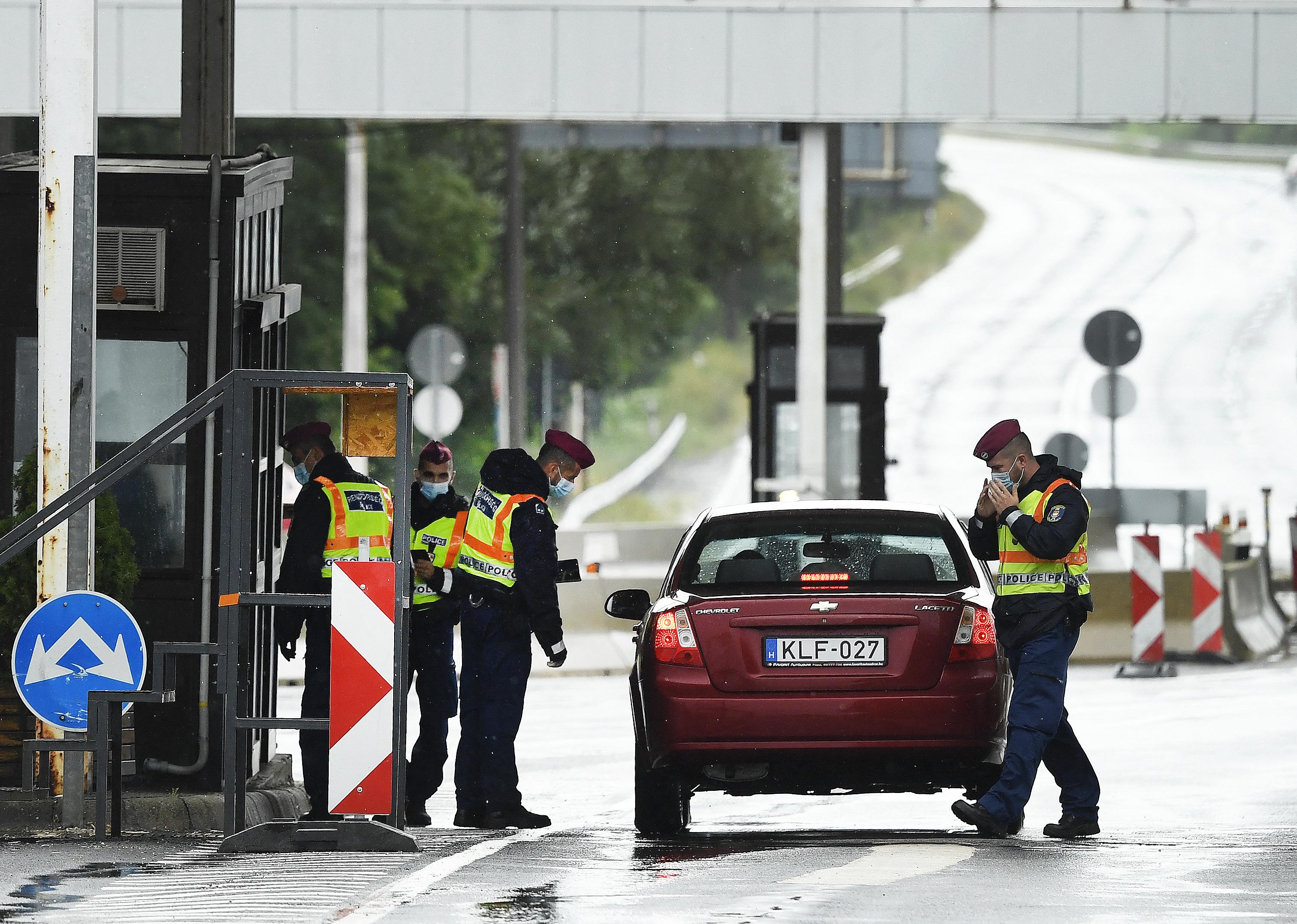 Megszűnt a határellenőrzés a schengeni határokon
