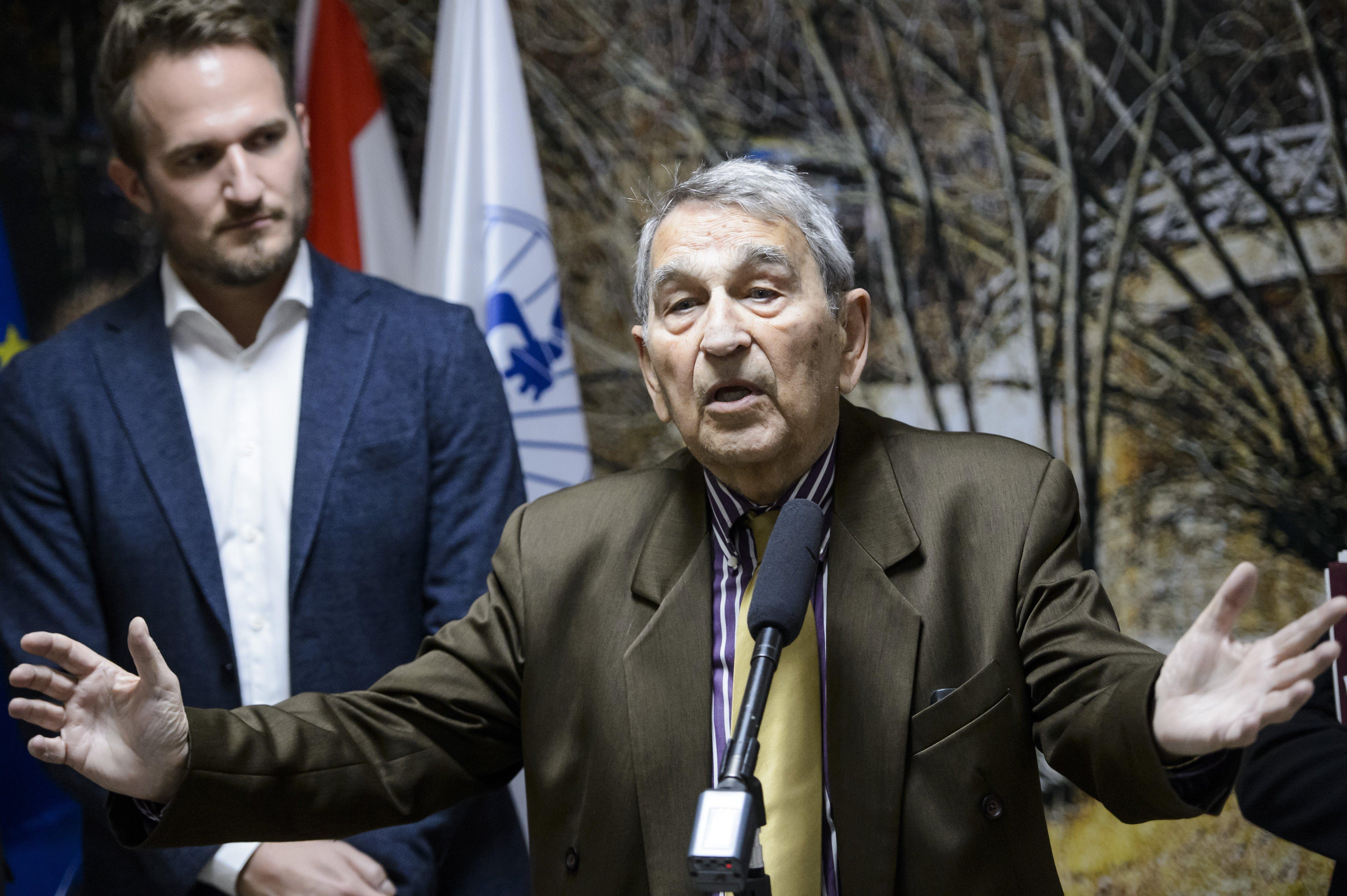 Elhunyt Hámori József biológus, az MTA egykori alelnöke