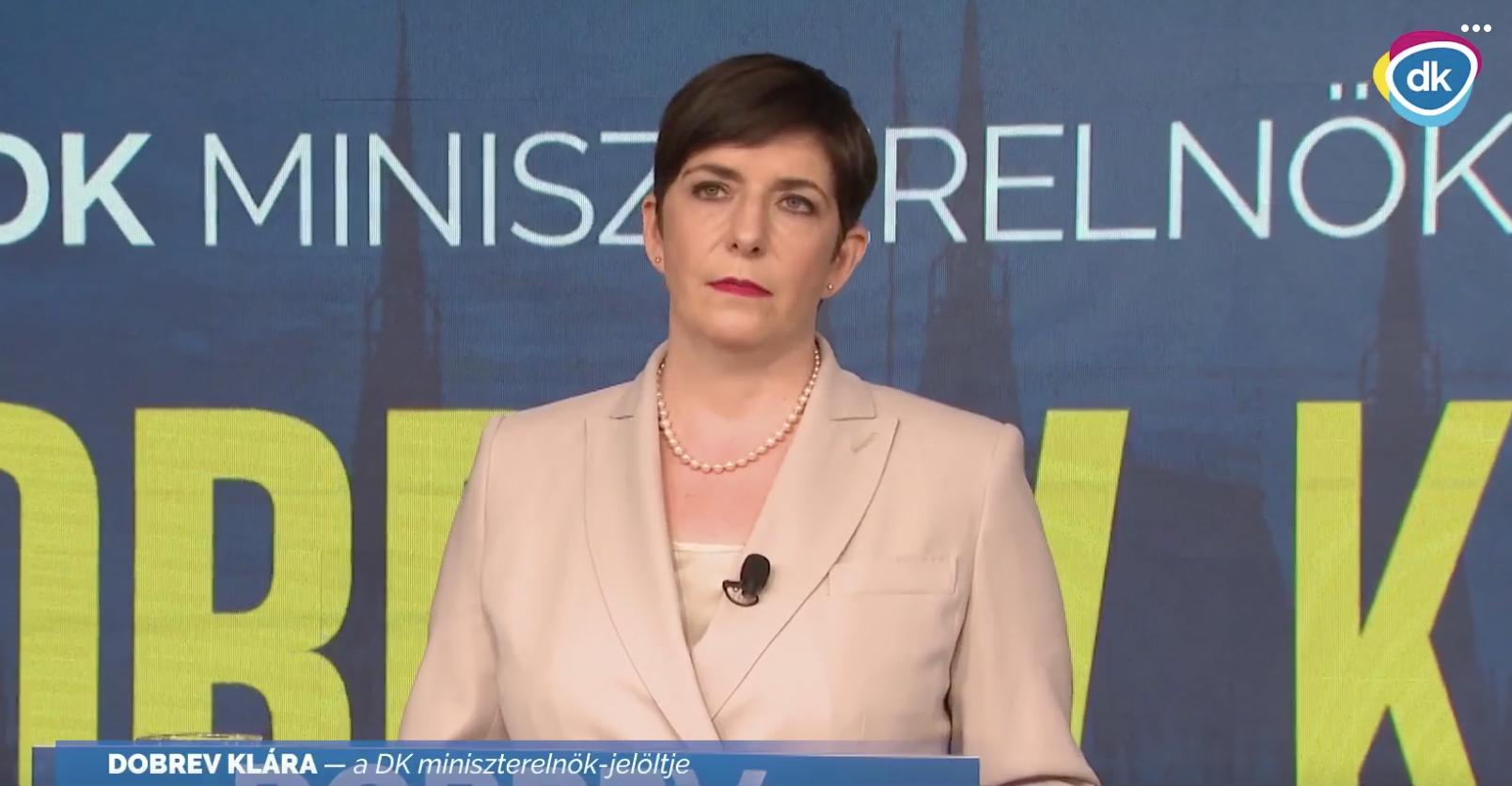 Papírforma: Dobrev Klára a DK miniszterelnök-jelöltje