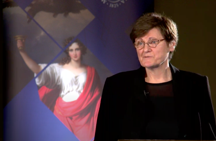 Az mRNS kutatásáról tartott előadást Karikó Katalin