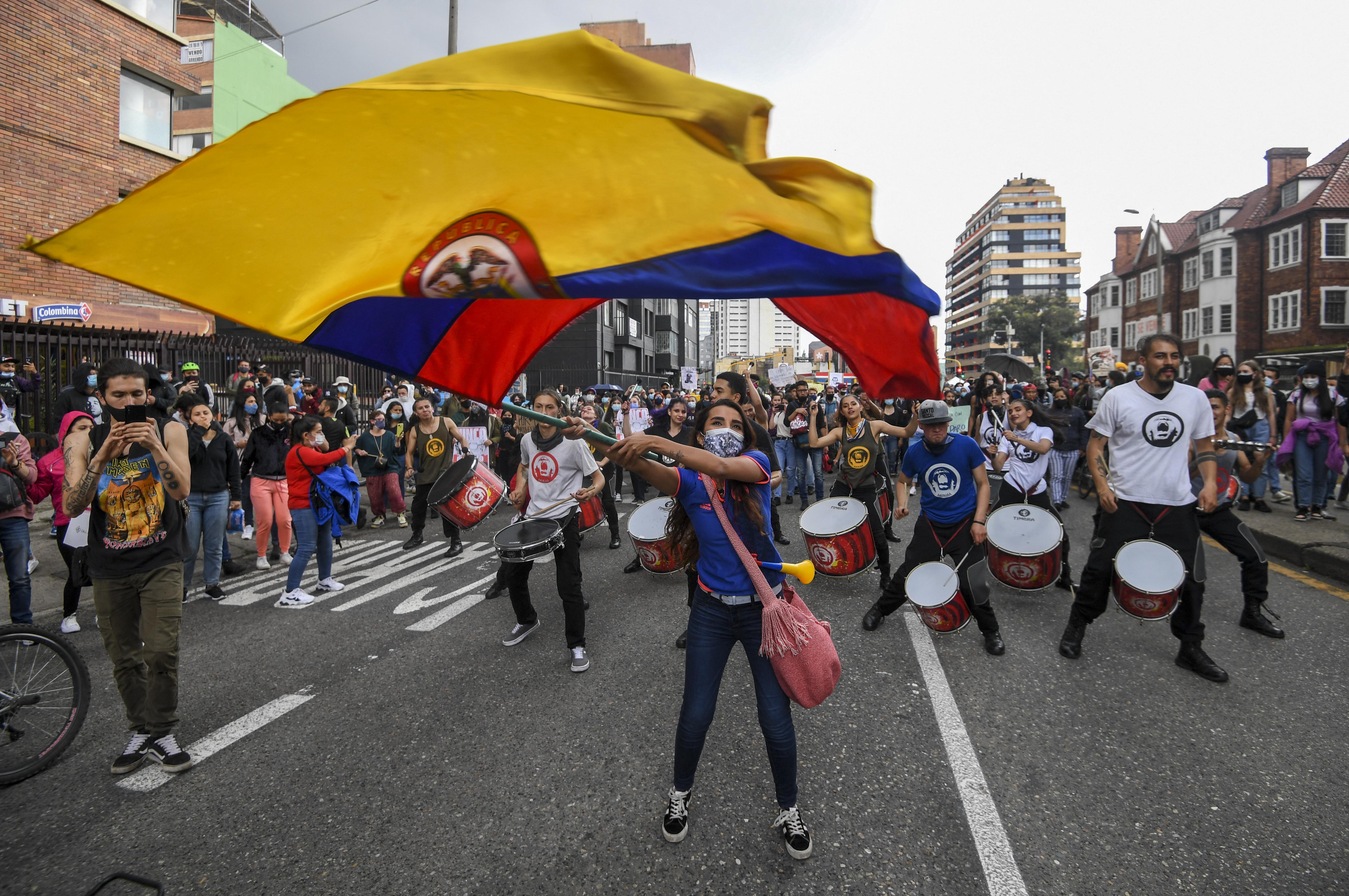 87 tüntető tűnt el Kolumbiában az egy hete tartó tiltakozások alatt