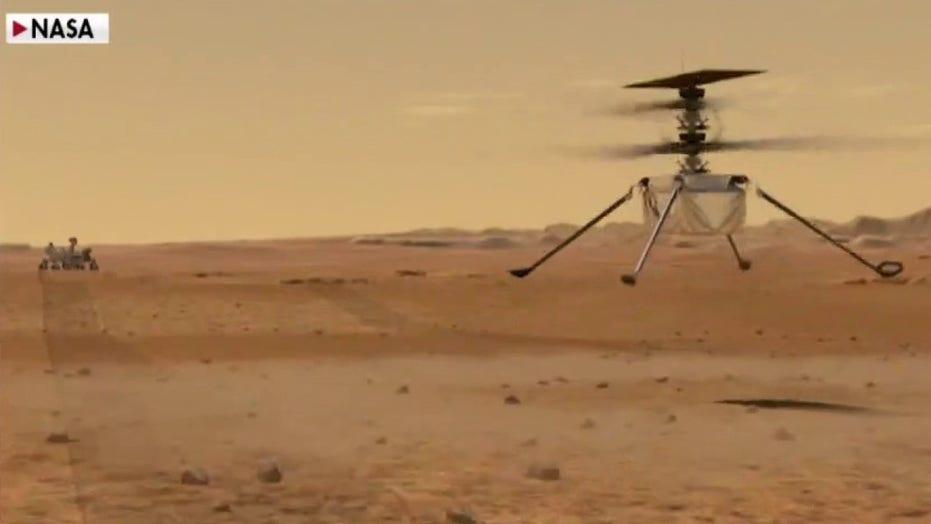 A NASA megosztotta a Marson repülő helikopterének hangját