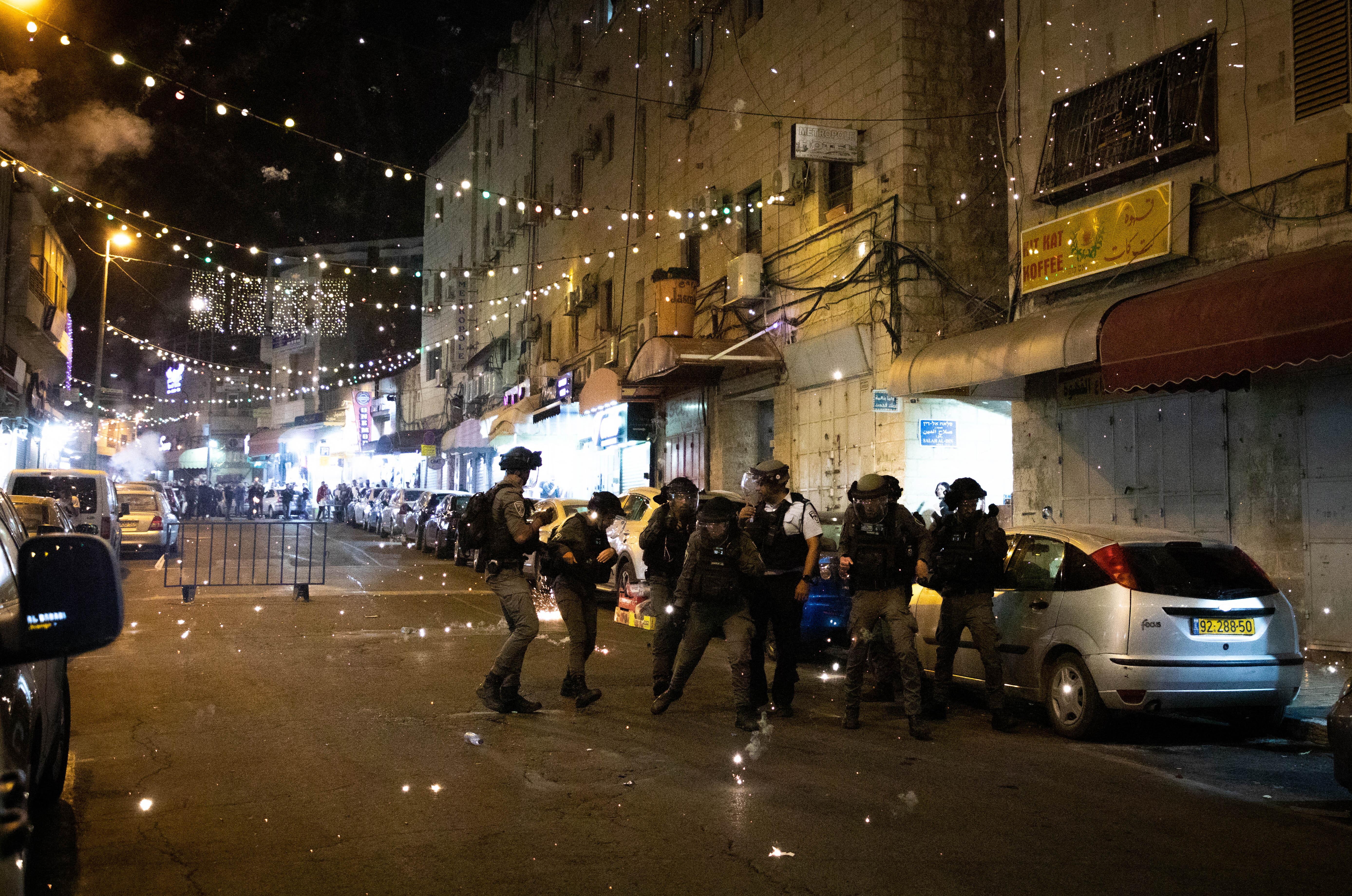 Ismét összecsaptak a palesztinok és az izraeli rendőrség