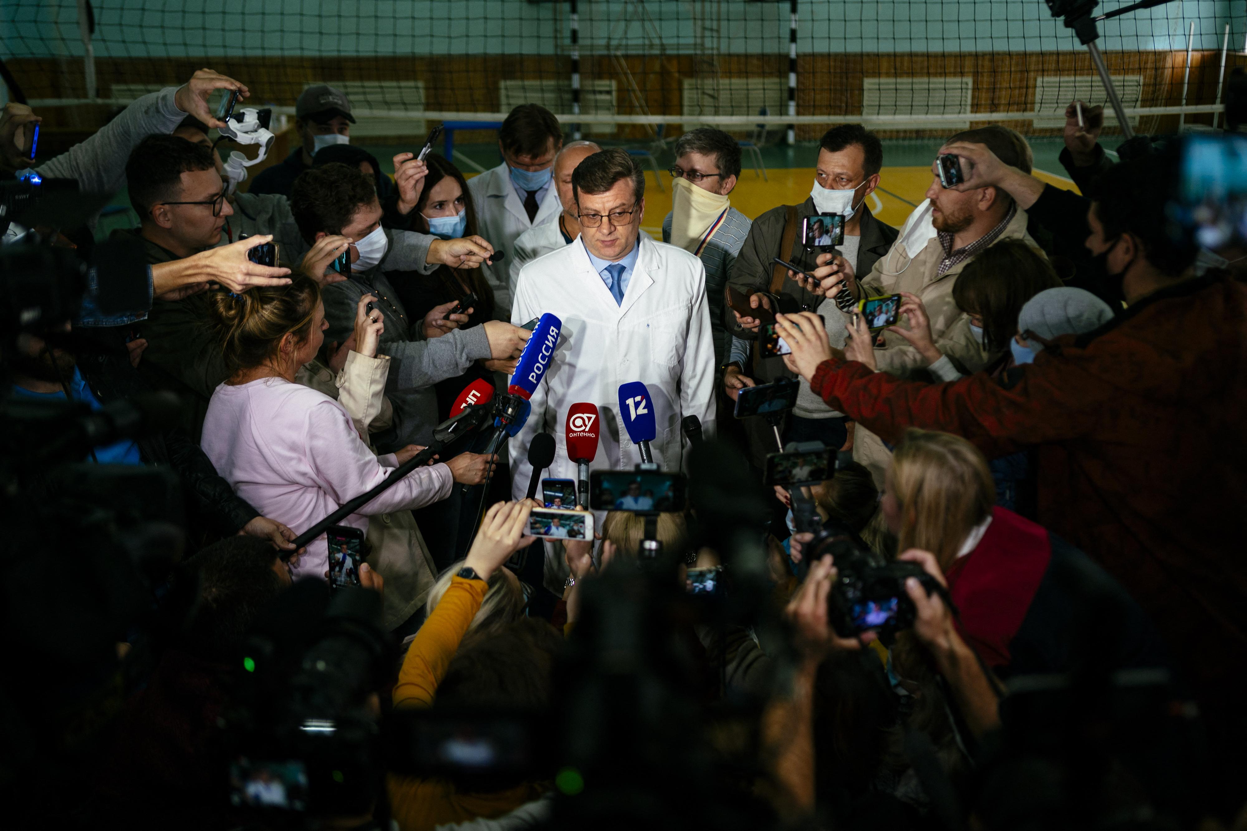 Eltűnt az orvos, aki Navalnijt kezelte mérgezése után