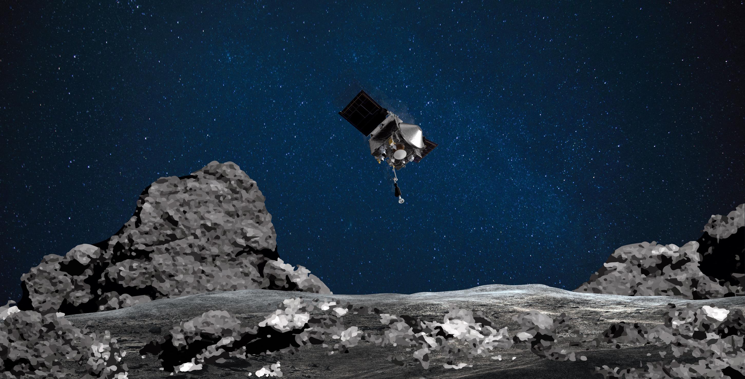 Húsz-negyven dekányi aszteroidamorzsalékkal a gyomrában hazaindult az Osiris-Rex űrszonda