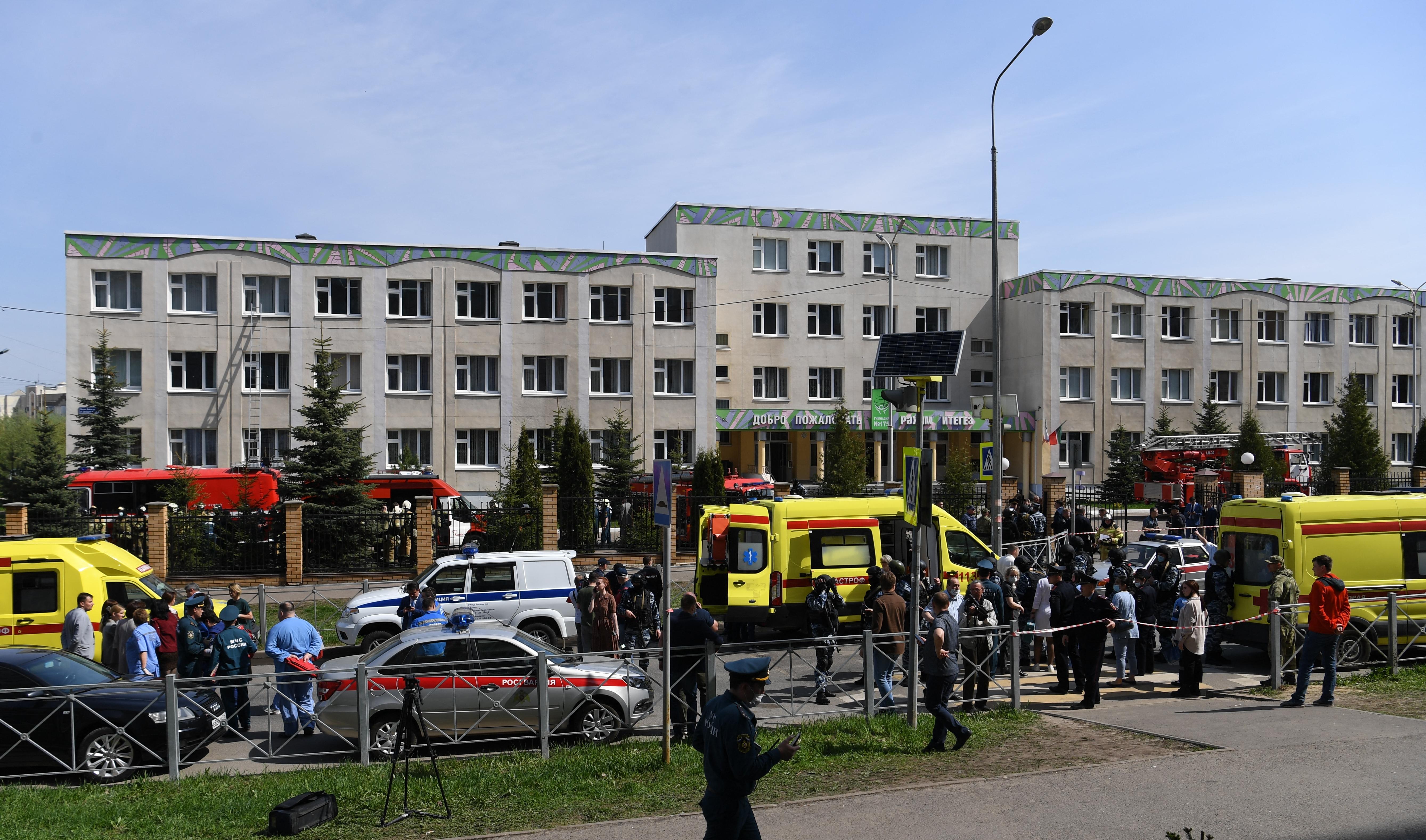 11 halálos áldozata van a kazanyi iskolai lövöldözésnek