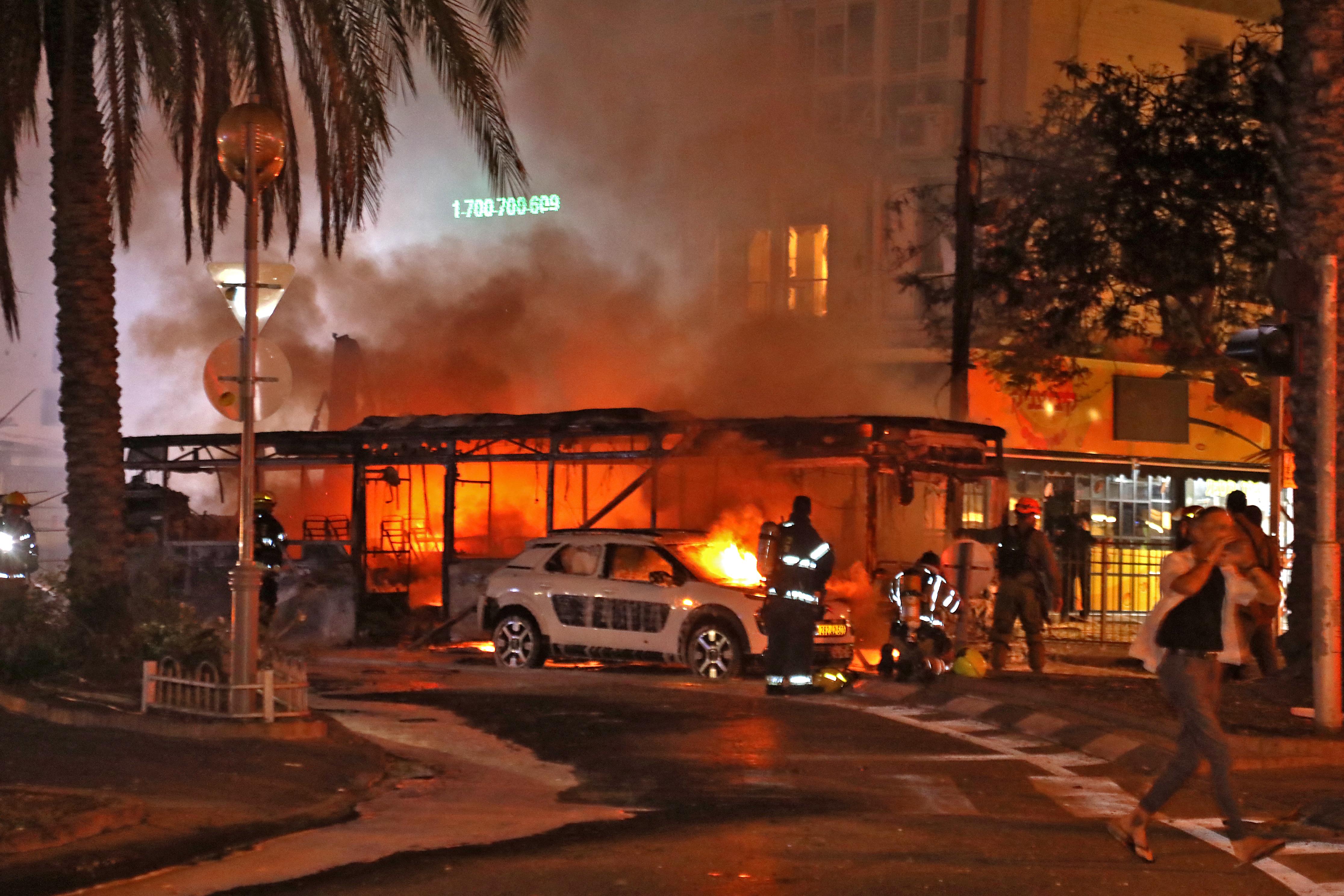 Szerda hajnalban újra megszólaltak a légvédelmi szirénák Tel-Avivban