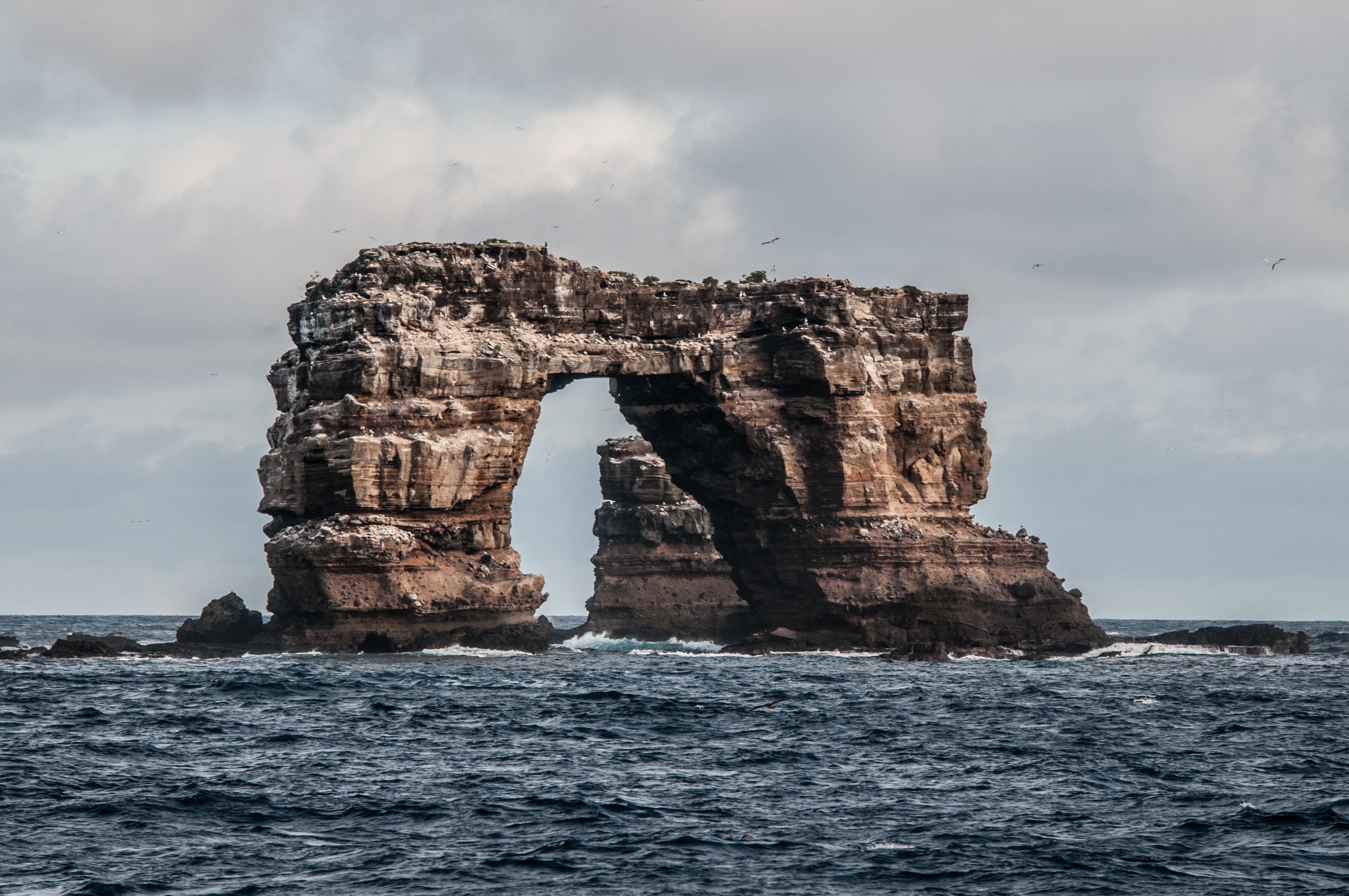Összeomlott a Darwin-boltív a Galapagos-szigeteknél
